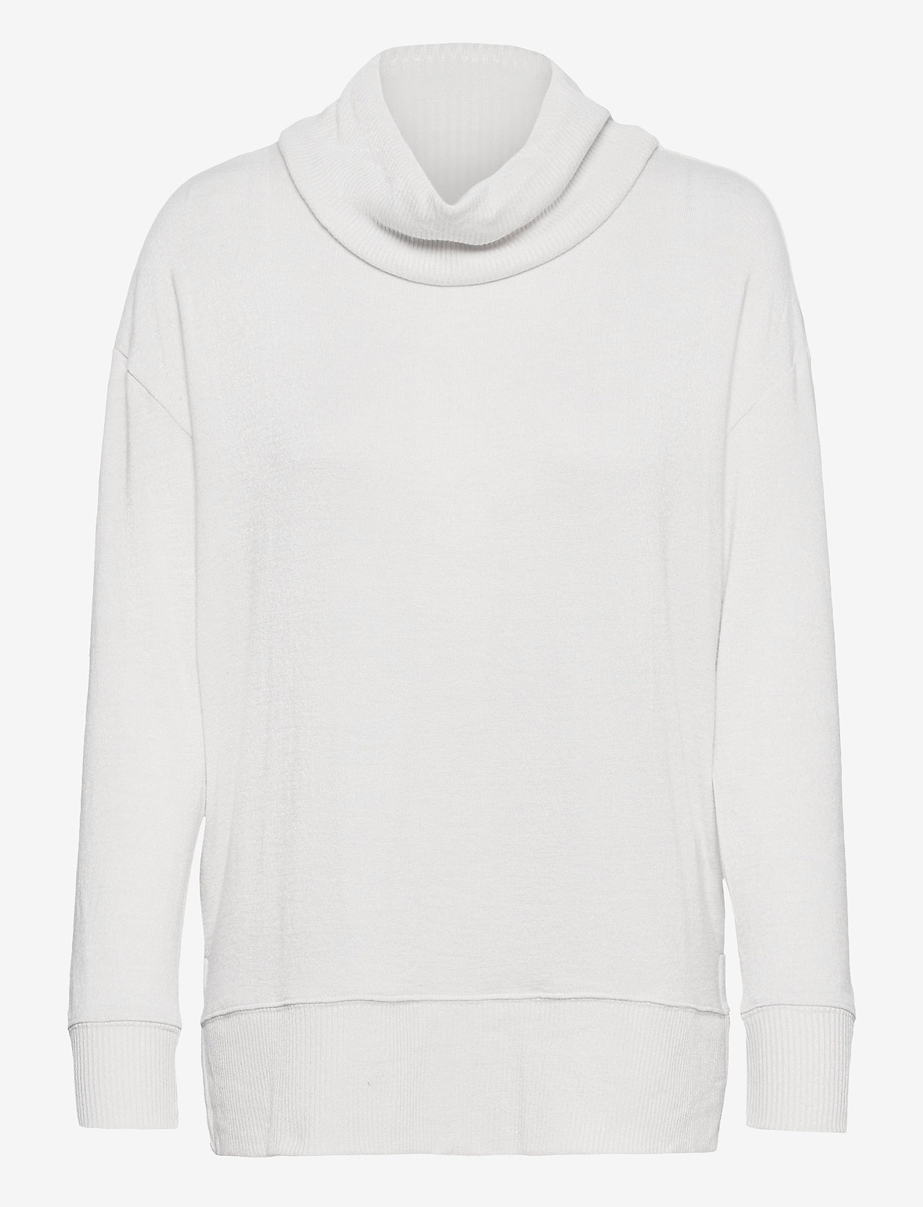 GAP - Softspun Cowl-Neck Top - turtlenecks - light cream - 0