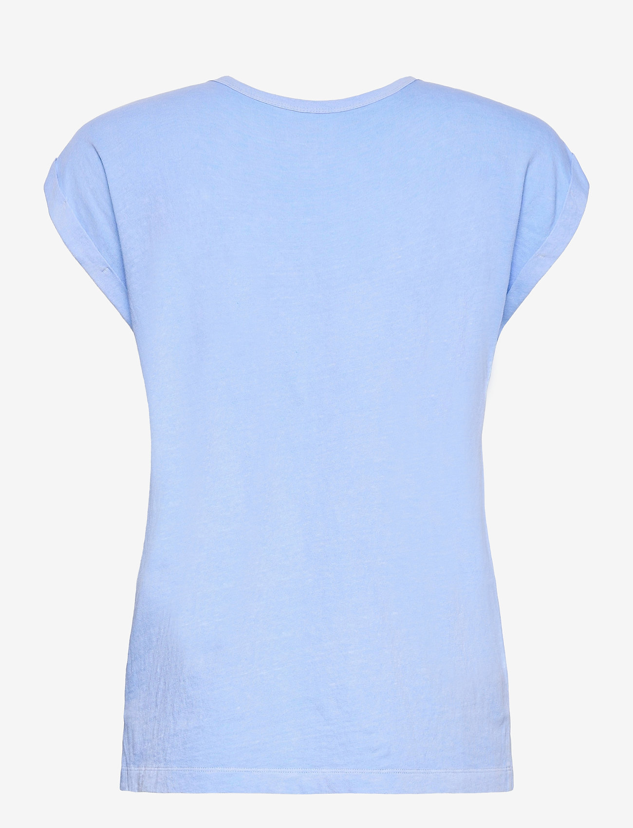 GAP - Relaxed V-Neck T-Shirt - t-shirts - distant blue - 1