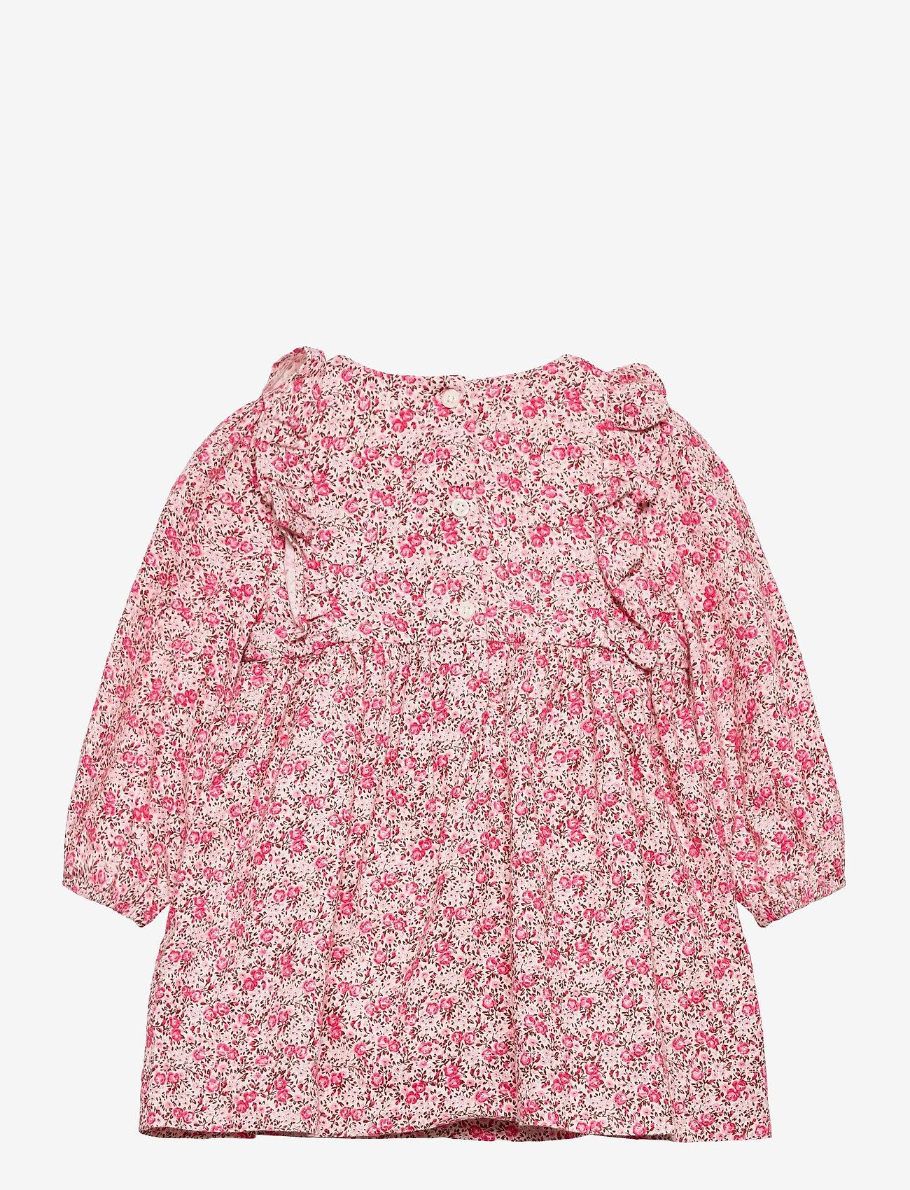 GAP - Baby Floral Smocked Dress - kleider - ivory frost - 1