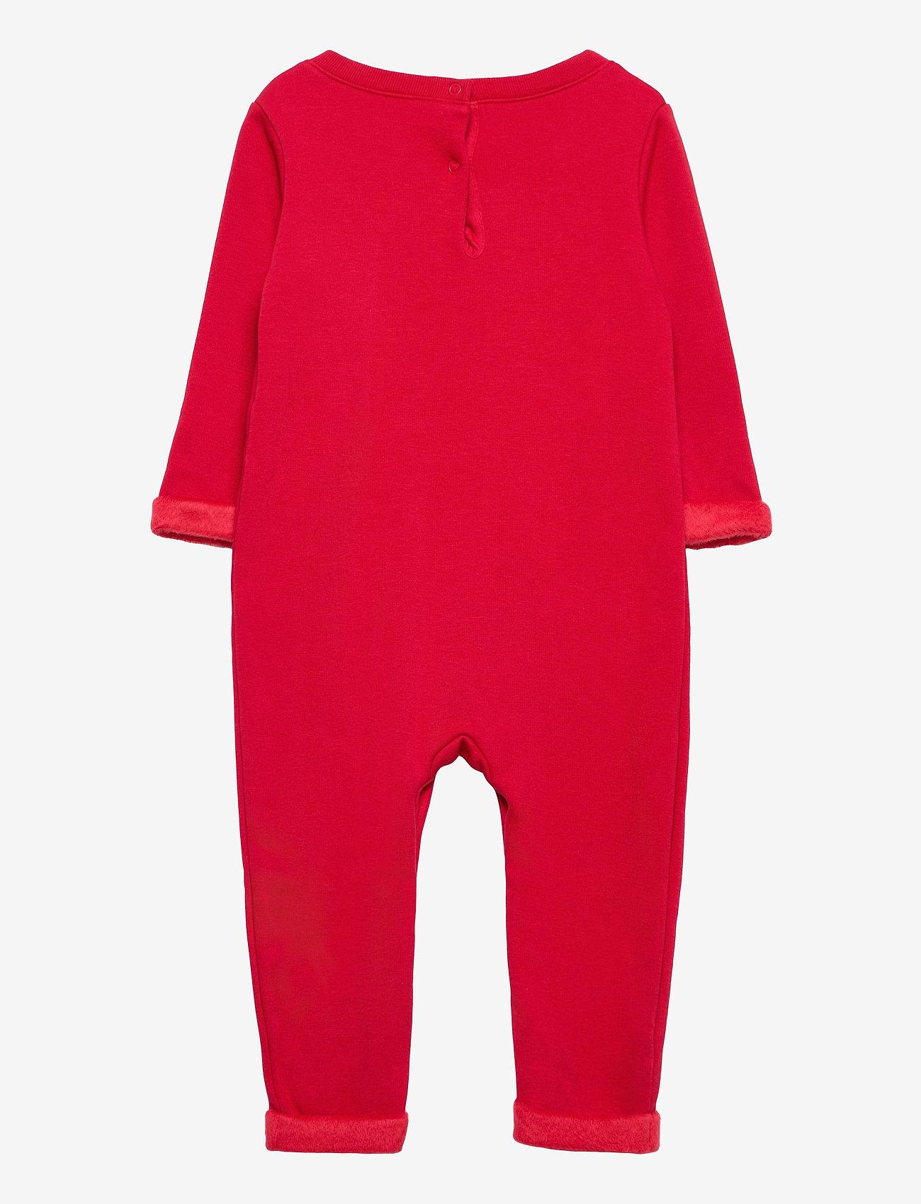 GAP - Baby Cozy Snowman One-Piece - langärmelig - fr modern red - 1