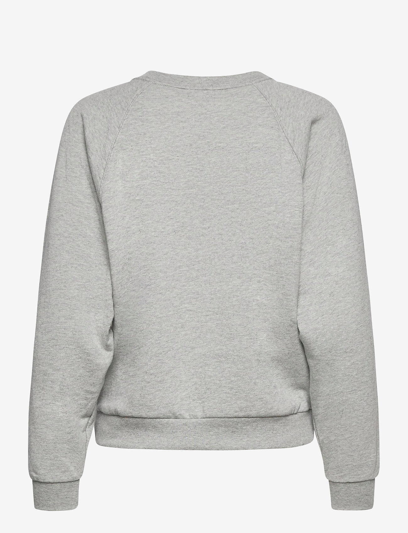 GAP - Gap Logo Raglan Crewneck Sweatshirt - sweatshirts - b10 grey heather - 1