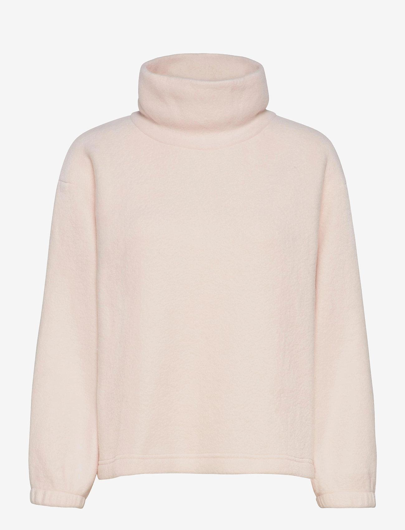 GAP - Fleece Turtleneck Sweatshirt - fleece jassen - oyster 083 - 0