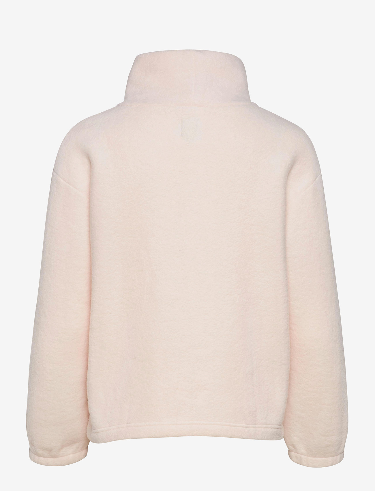 GAP - Fleece Turtleneck Sweatshirt - mid layer jackets - oyster 083 - 1