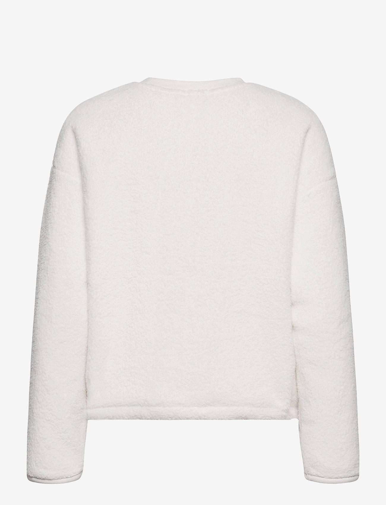 GAP - GAP SHERPA PO CR - sweatshirts - milk 600 global - 1