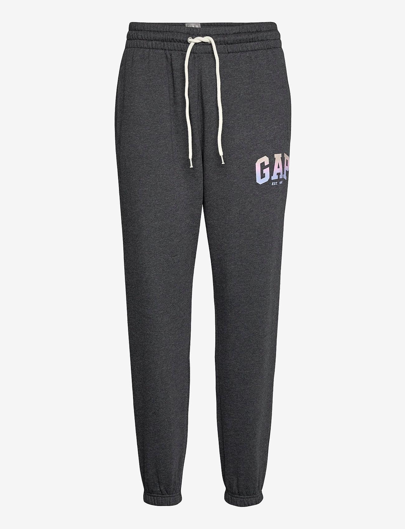 GAP - GAP SHINE JOGGER - sweatpants - charcoal heather - 0