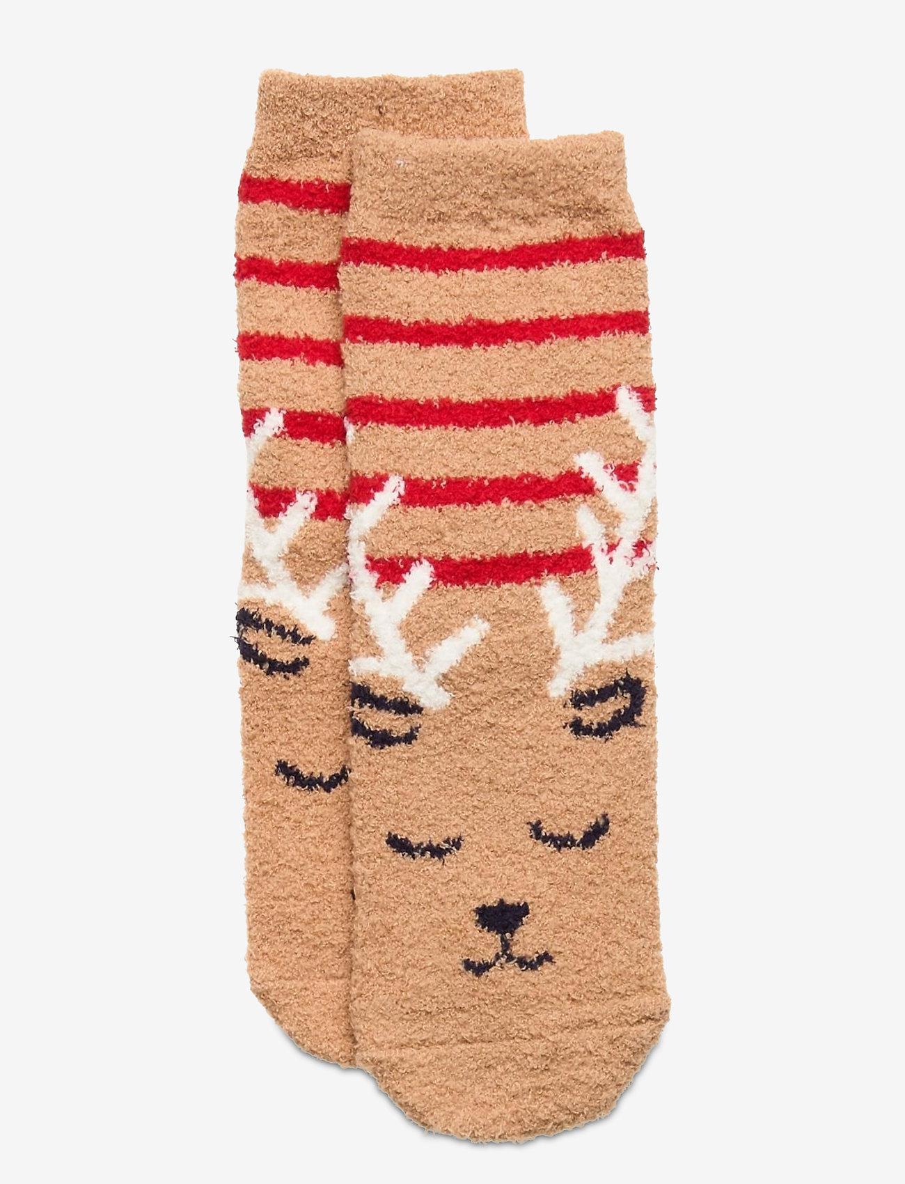 GAP - Kids Cozy Fuzzy Socks - skarpetki - deerfield - 0