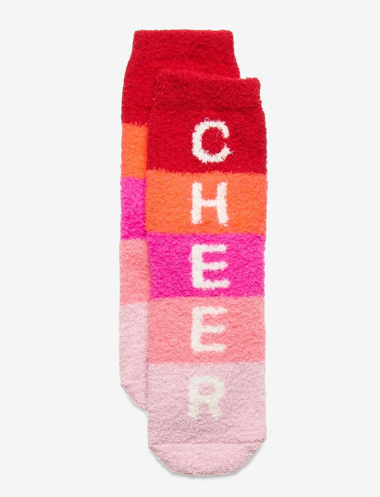 GAP - Kids Cozy Fuzzy Socks - skarpetki - fr modern red - 0