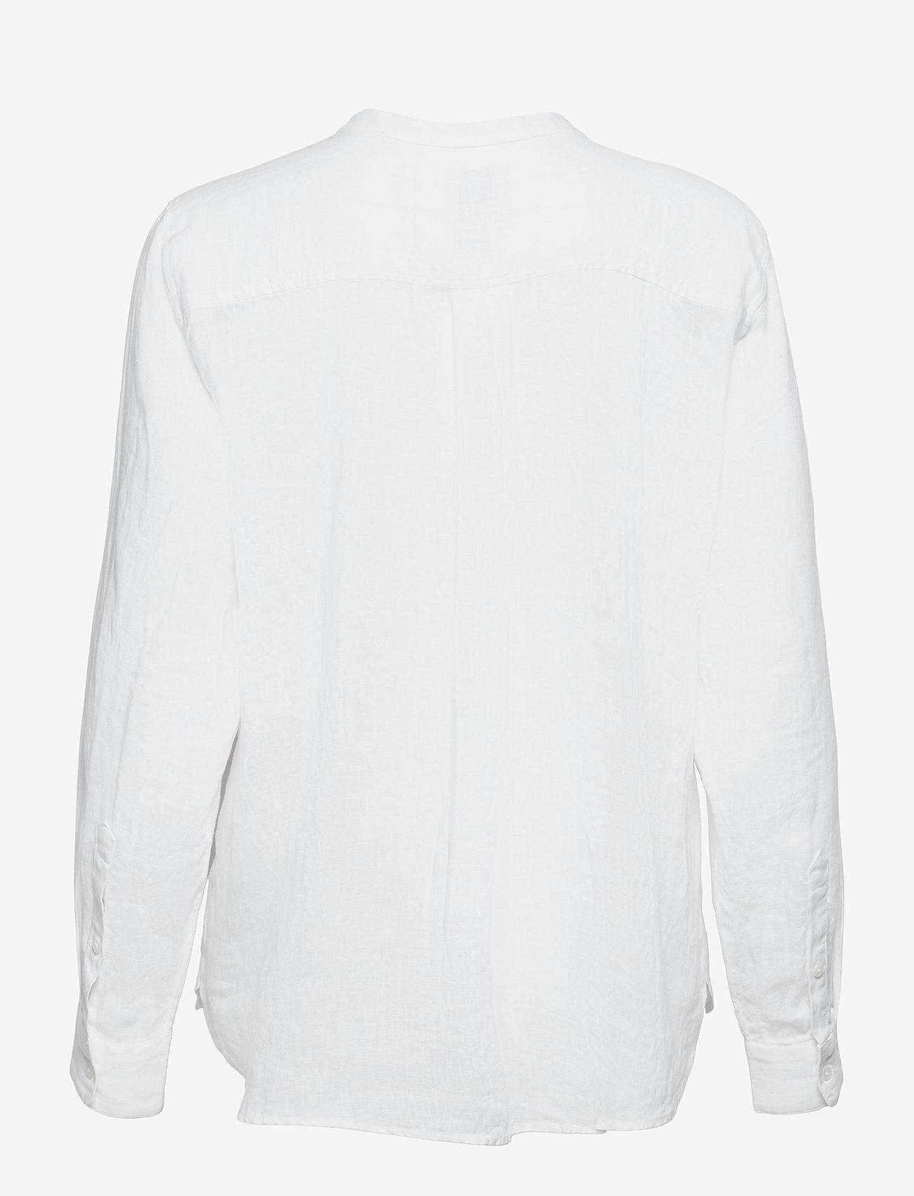 GAP - Linen Popover Shirt - chemises à manches longues - fresh white - 1