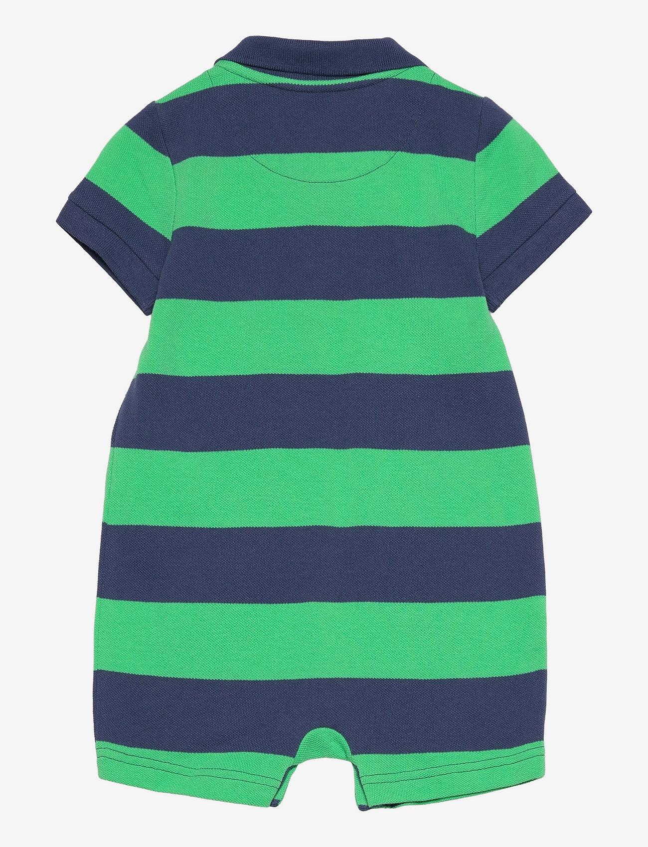 GAP - Baby Polo Shorty One-Piece - kurzärmelig - parrot green 385 - 1