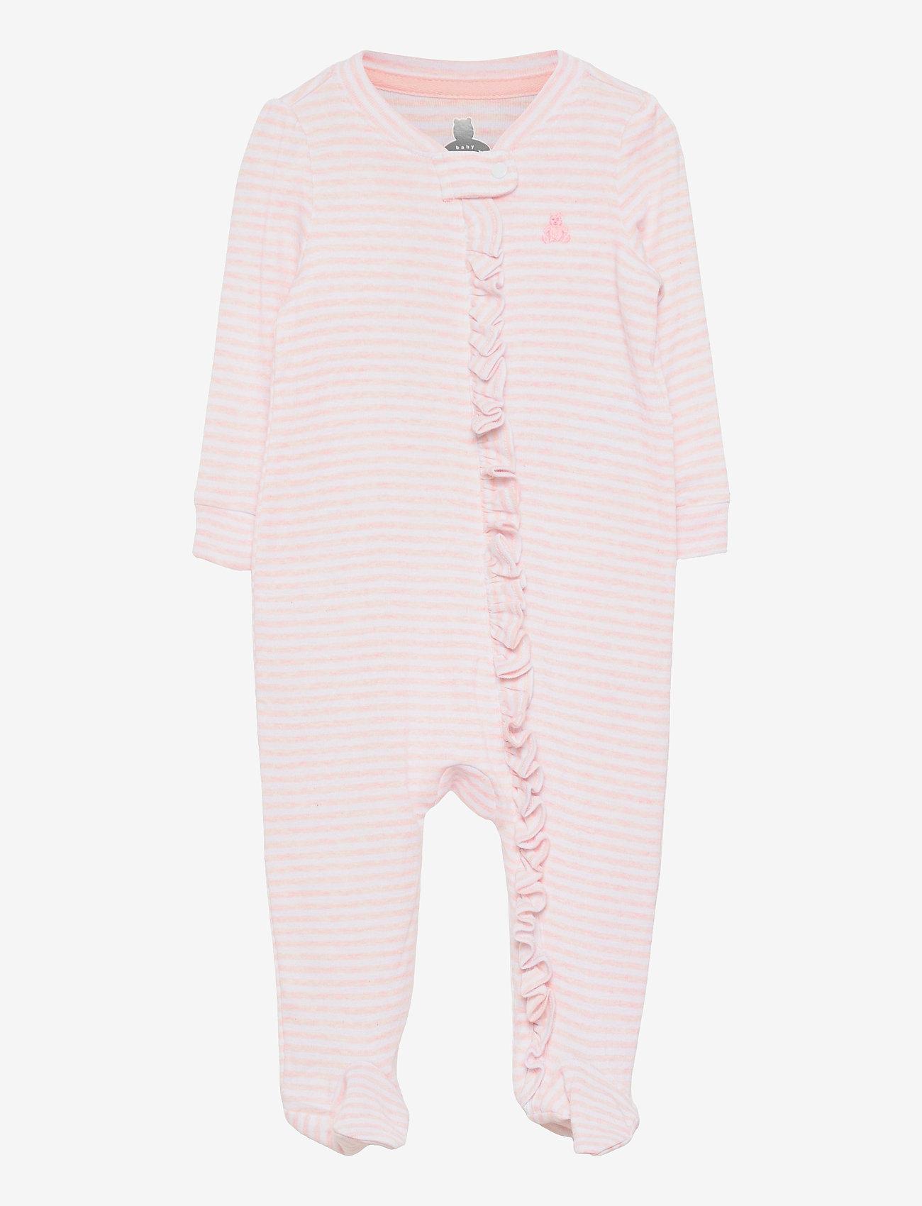 GAP - Baby First Favorite Stripe One-Piece - langärmelig - pink heather stripe - 0