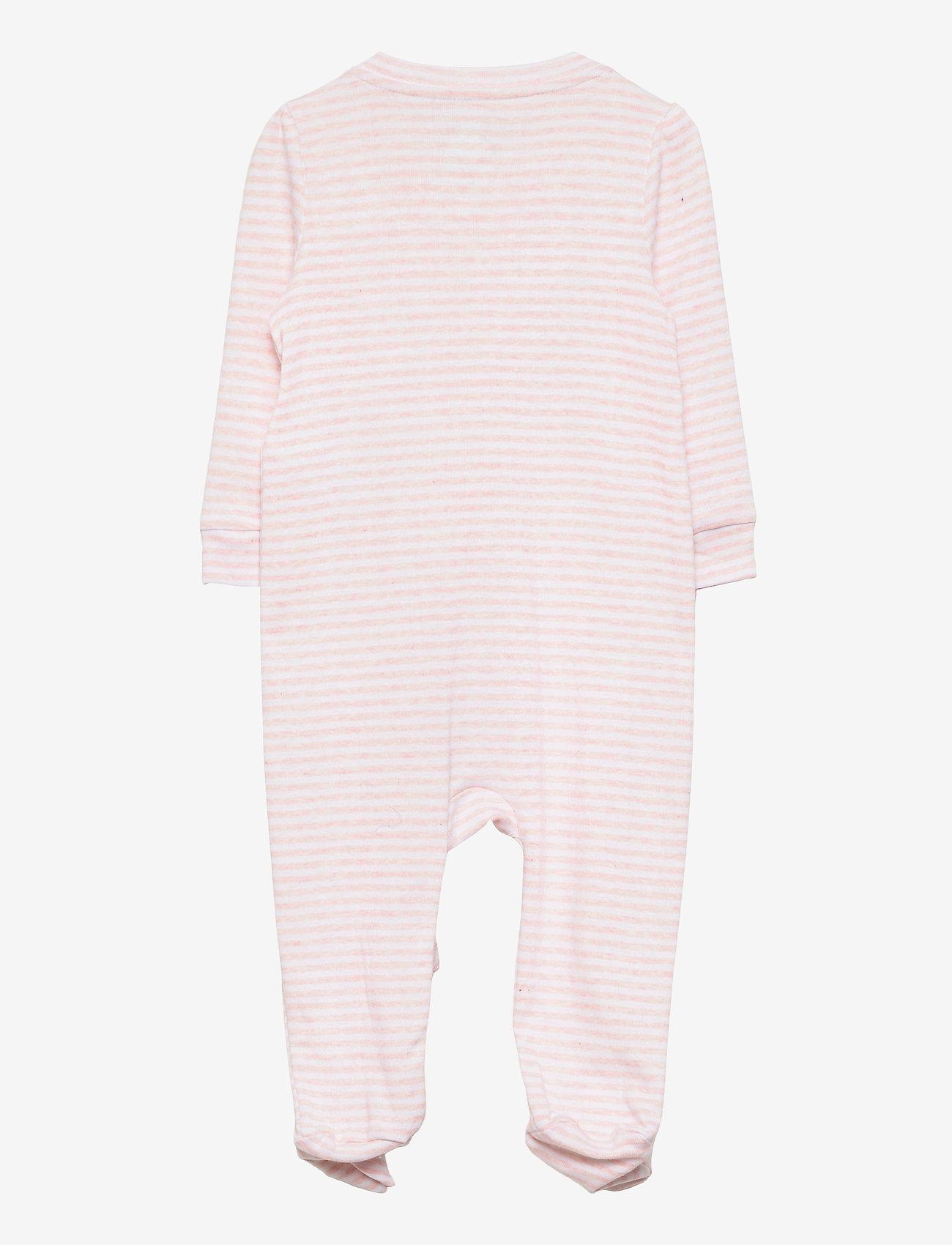 GAP - Baby First Favorite Stripe One-Piece - langärmelig - pink heather stripe - 1