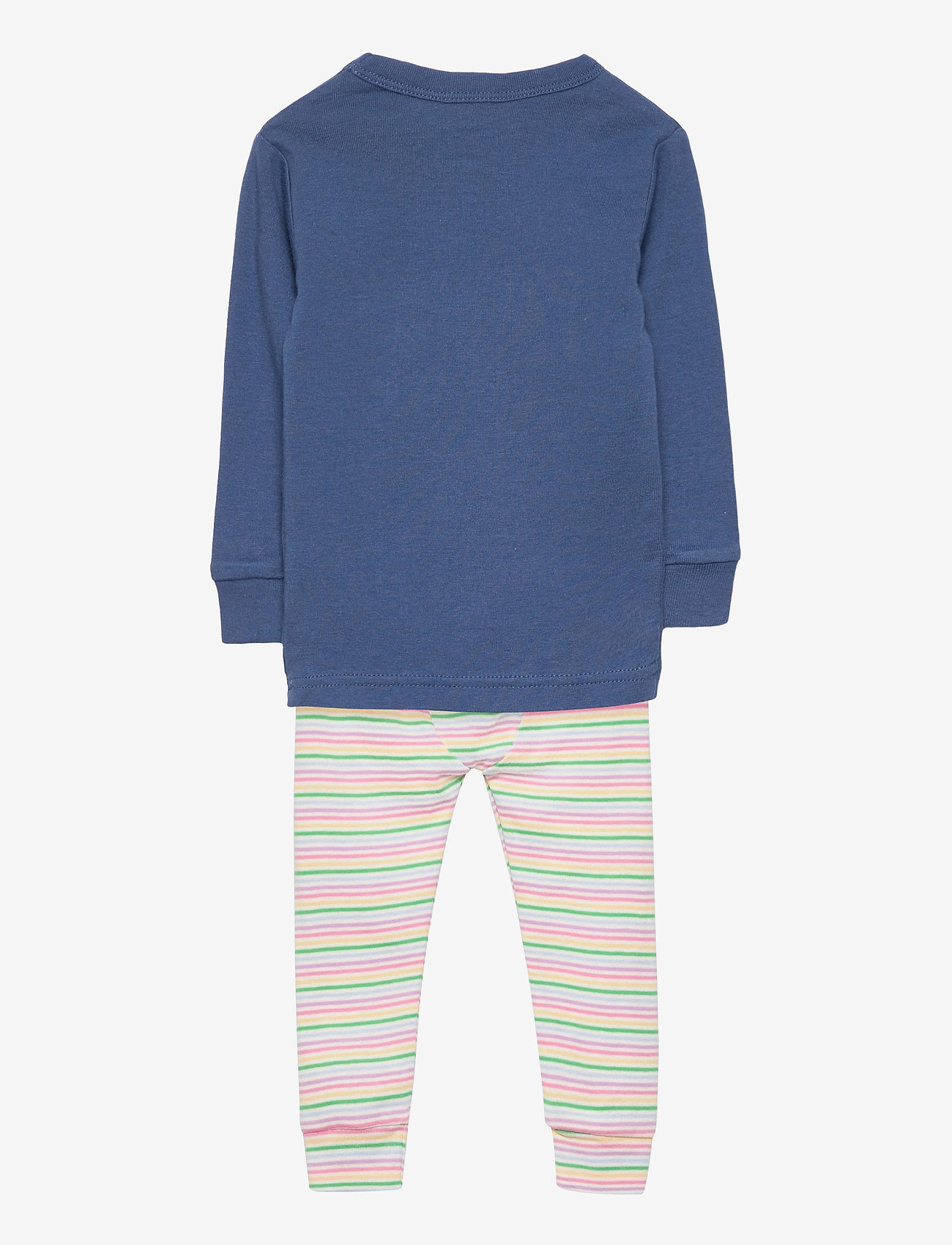GAP - babyGap 100% Organic Cotton Be Kind Graphic PJ Set - 2-delte sæt - blue shade - 2