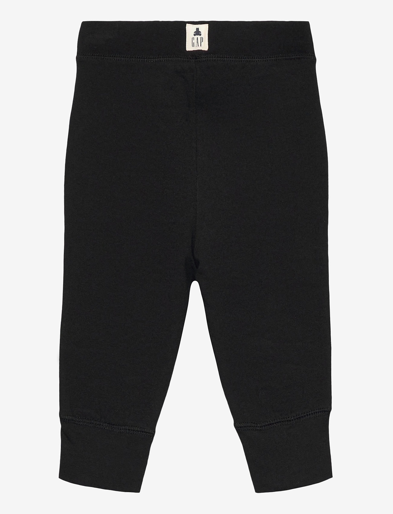 GAP - Toddler 100% Organic Cotton Mix and Match Pull-On Pants - trousers - true black - 1