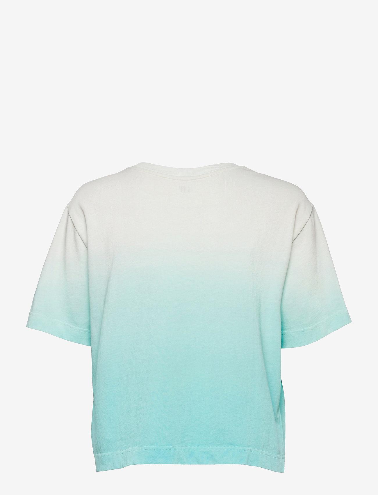 GAP - GAP BOXY SS TEE - t-shirts - ombre blue - 1