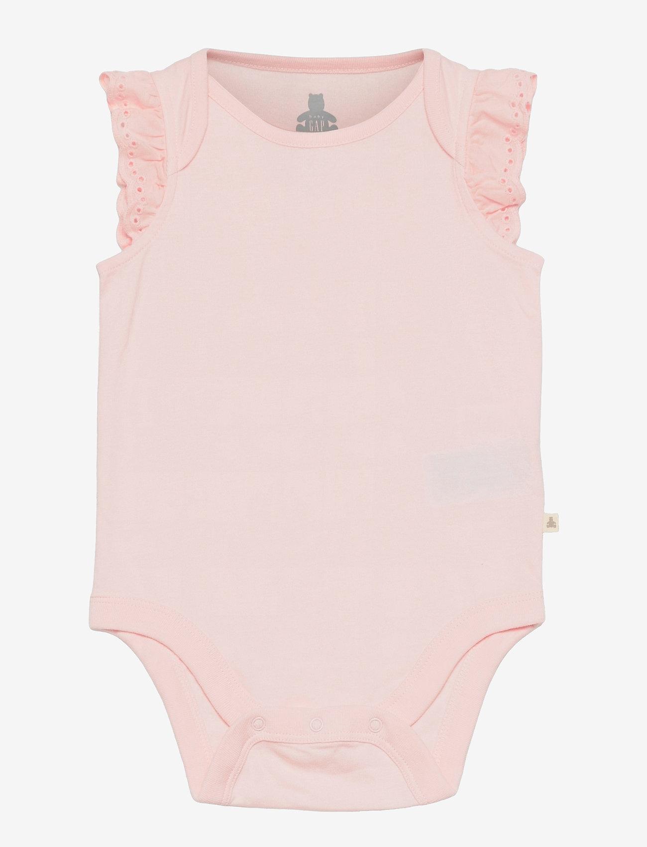 GAP - Baby 100% Organic Cotton Mix and Match Bodysuit (3-Pack) - korte mouwen - multi - 3