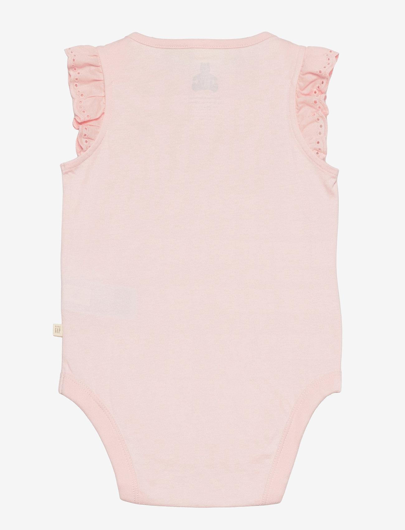 GAP - Baby 100% Organic Cotton Mix and Match Bodysuit (3-Pack) - korte mouwen - multi - 2