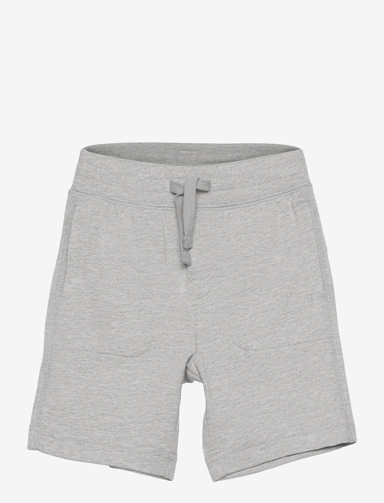 GAP - Toddler 100% Organic Cotton Mix and Match Pull-On Shorts - shorts - light heather grey - 0