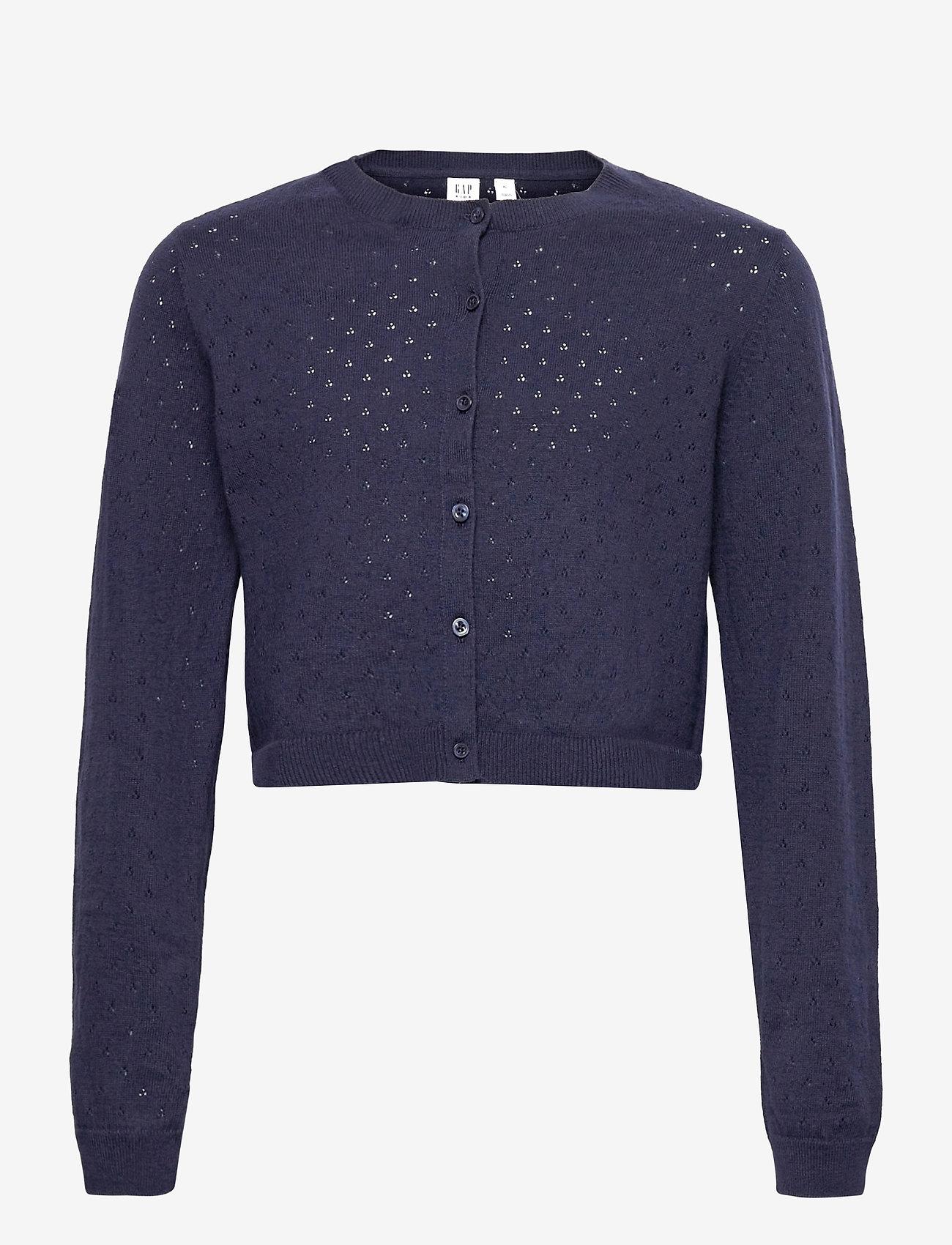 GAP - Kids Knit Cardigan - gilets - navy uniform - 0