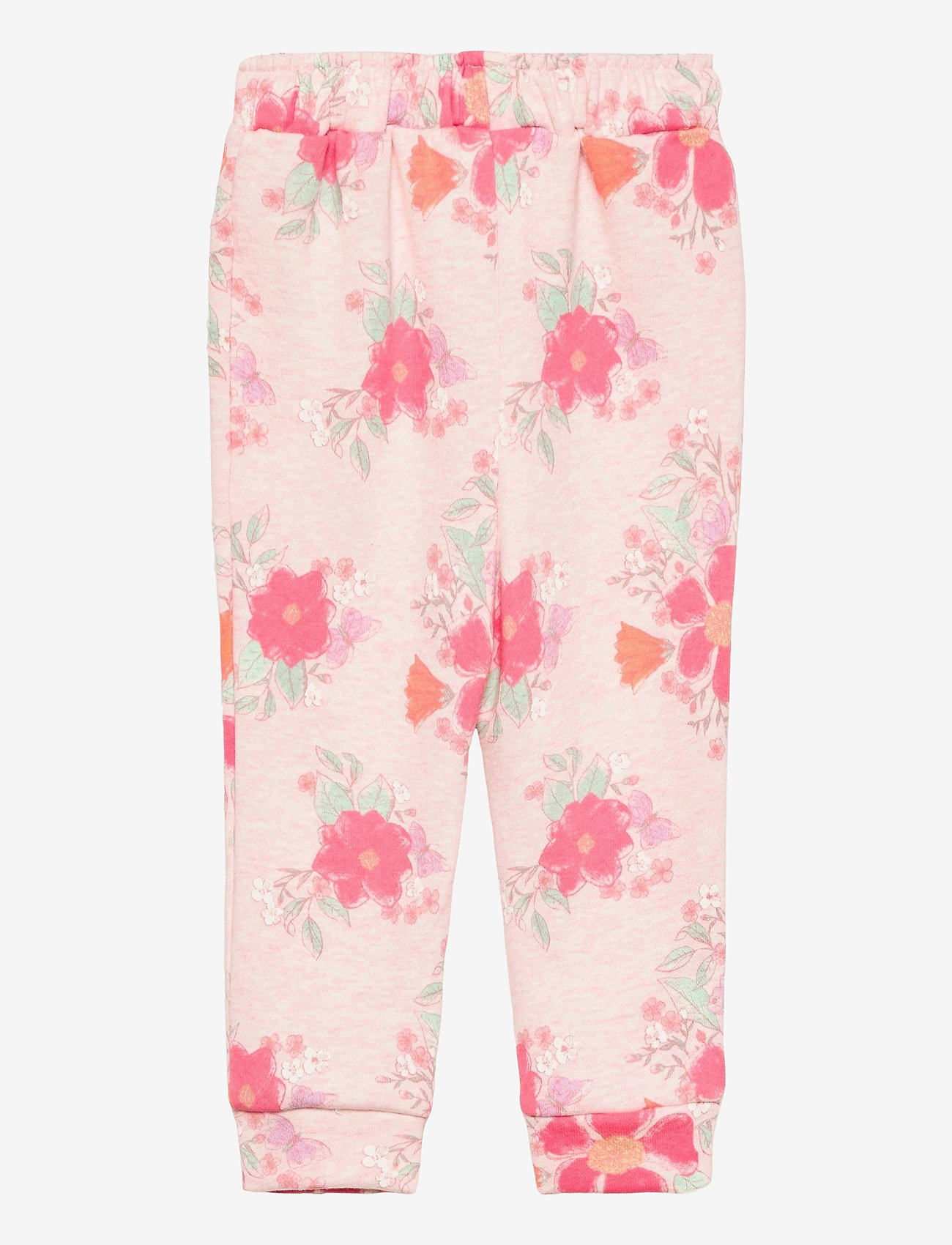 GAP - Toddler Print Pull-On Joggers - trousers - pink floral 1 - 1