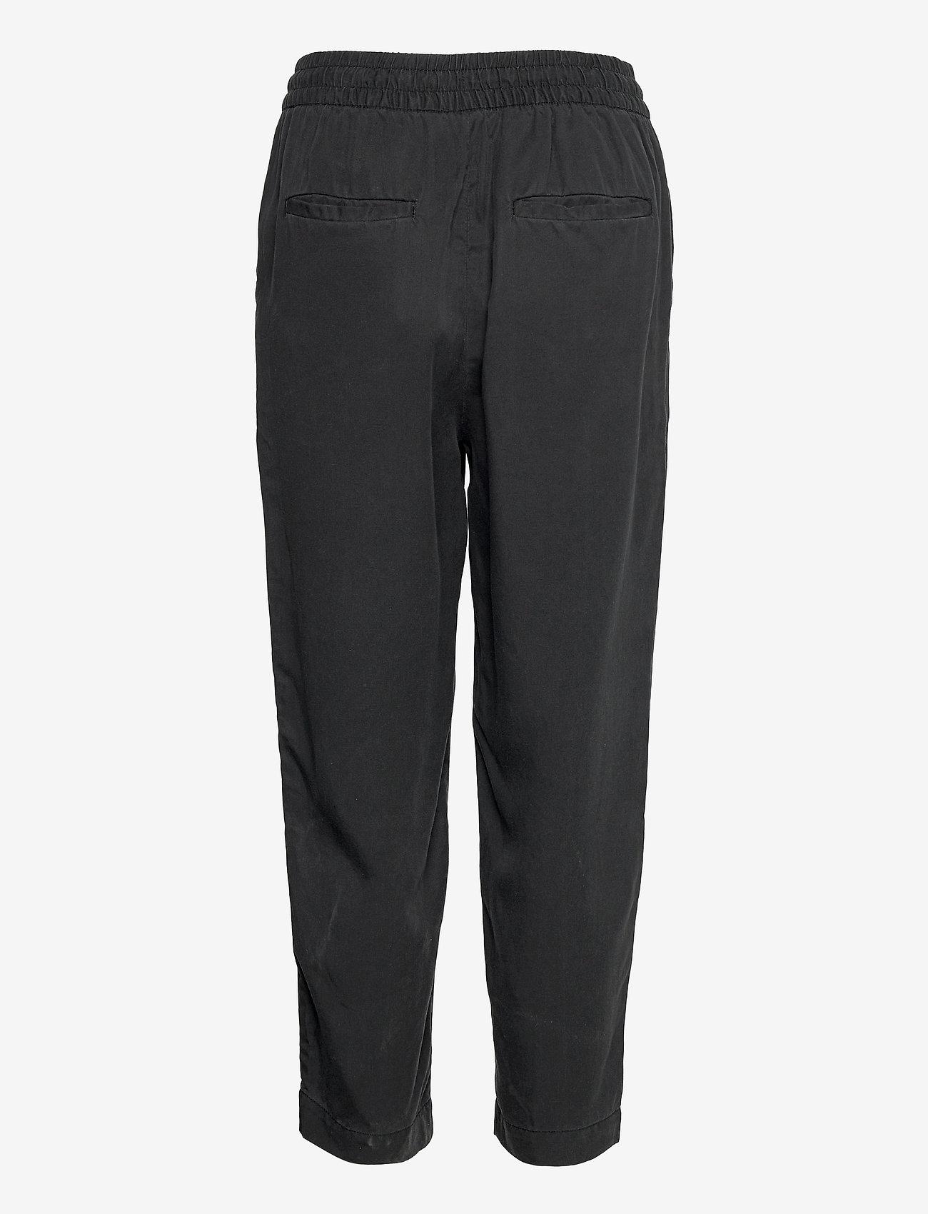 GAP - VERSATILE PULL-ON TENCEL JOGGER - tøj - true black v2 - 1