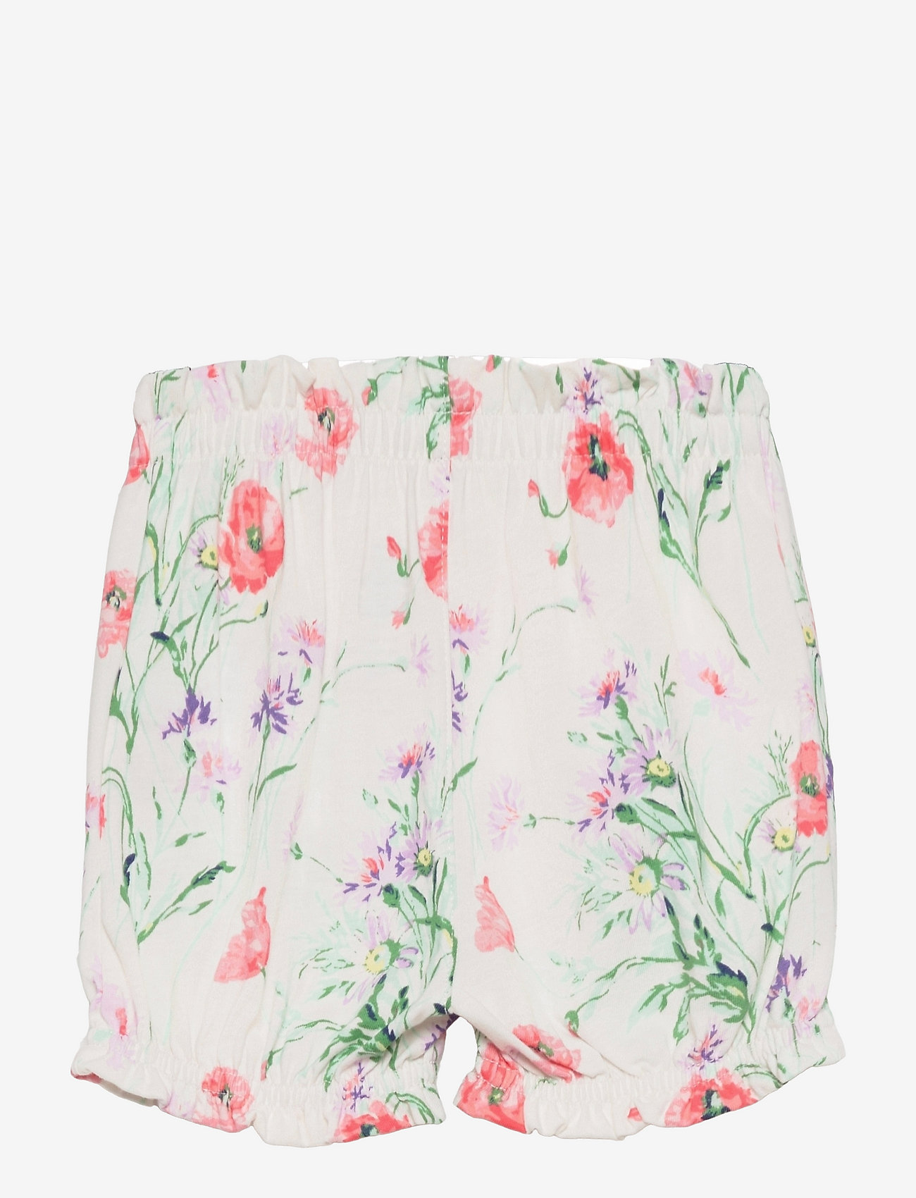 GAP - Baby 100% Organic Cotton Mix and Match Print Pull-On Shorts - shorts - light pink floral - 1
