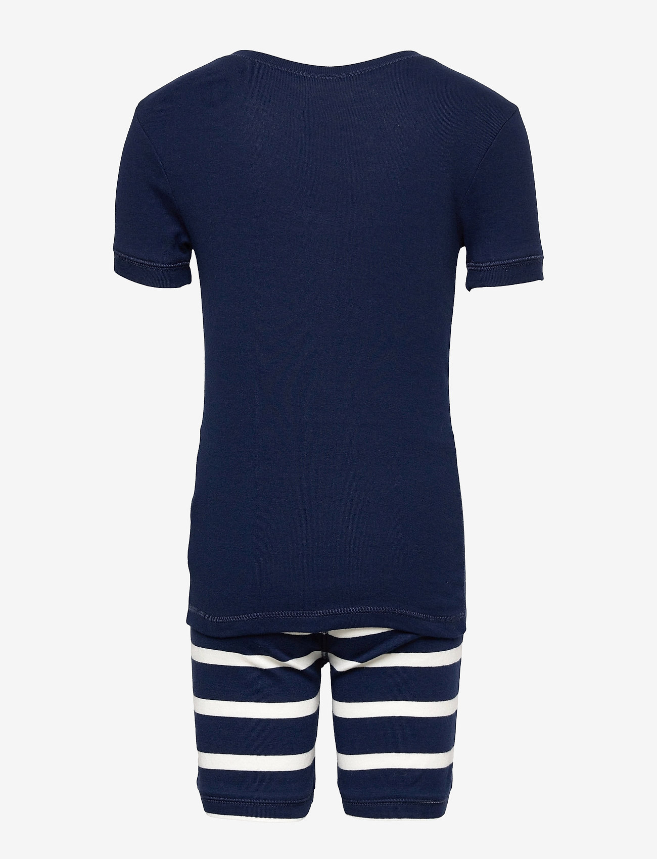 GAP - Kids 100% Organic Cotton Dinosaur PJ Set - pyjamas - elysian blue - 1