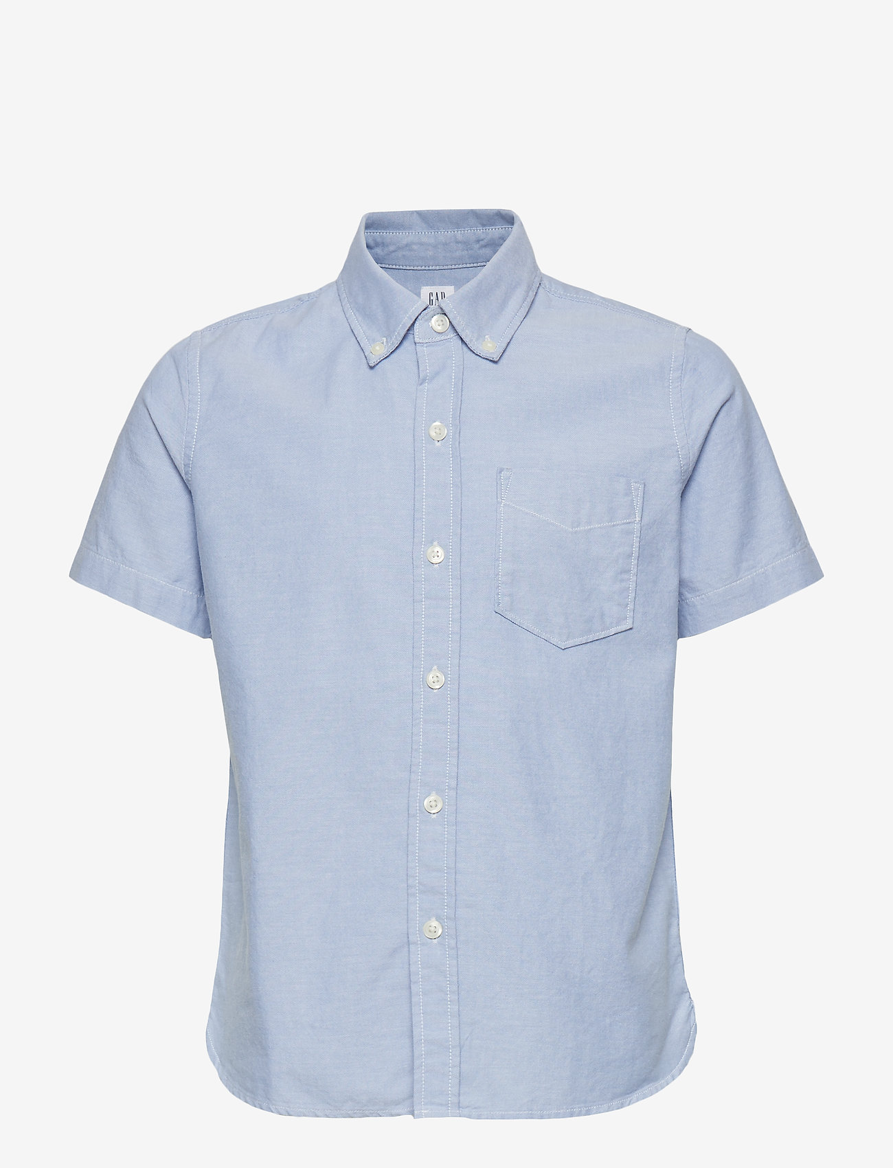 GAP - Kids Uniform Oxford Short Sleeve Shirt - overhemden - oxford blue - 0