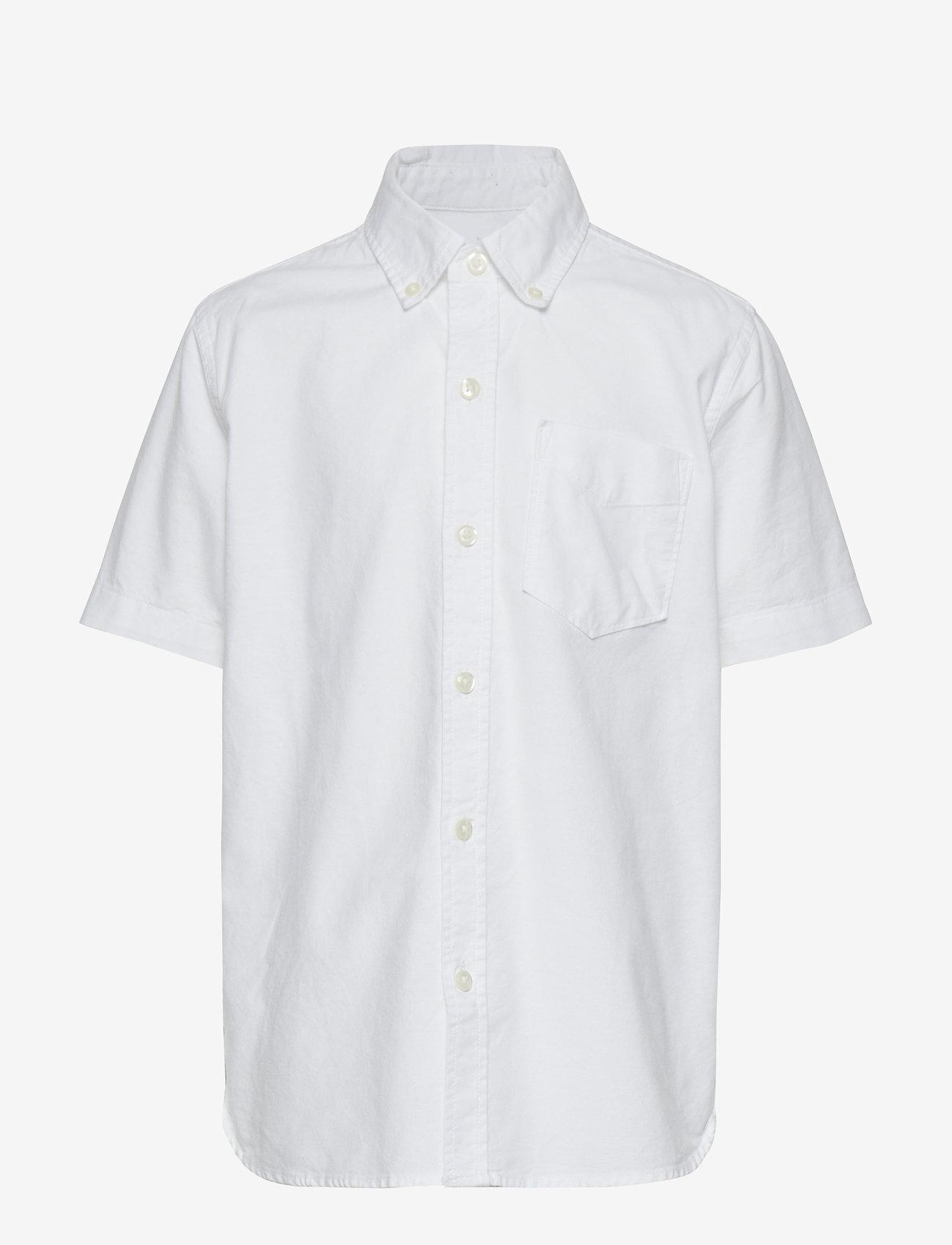 GAP - Kids Uniform Oxford Short Sleeve Shirt - overhemden - white 2 - 0