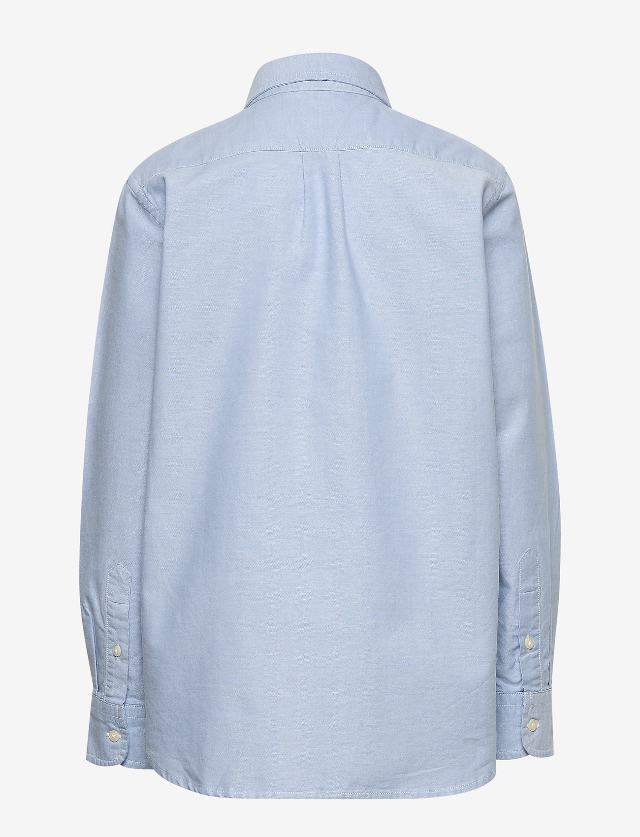 GAP - Kids Uniform Oxford Long Sleeve Shirt - shirts - oxford blue - 1