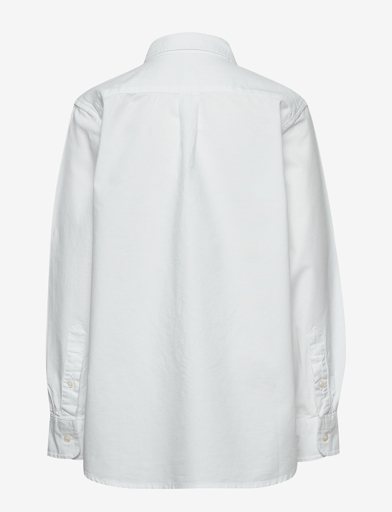 GAP - Kids Uniform Oxford Long Sleeve Shirt - shirts - white 2 - 1