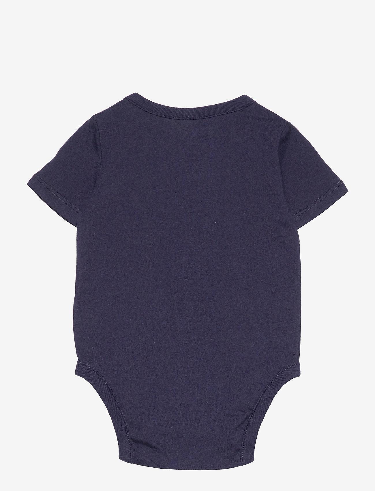 GAP - Baby 100% Organic Cotton Mix and Match Bodysuit - korte mouwen - navy uniform - 1