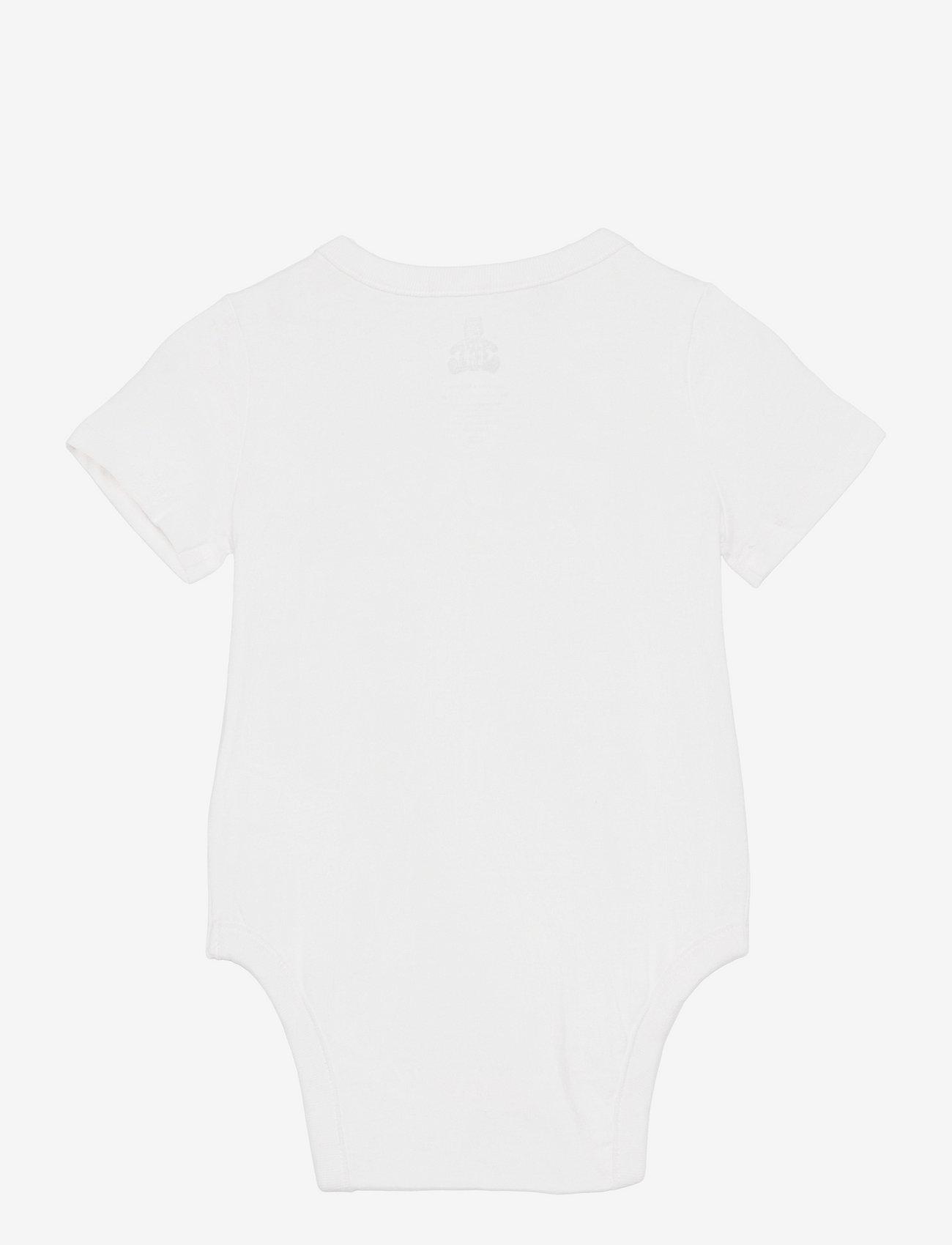 GAP - Baby 100% Organic Cotton Mix and Match Bodysuit - korte mouwen - new off white - 1