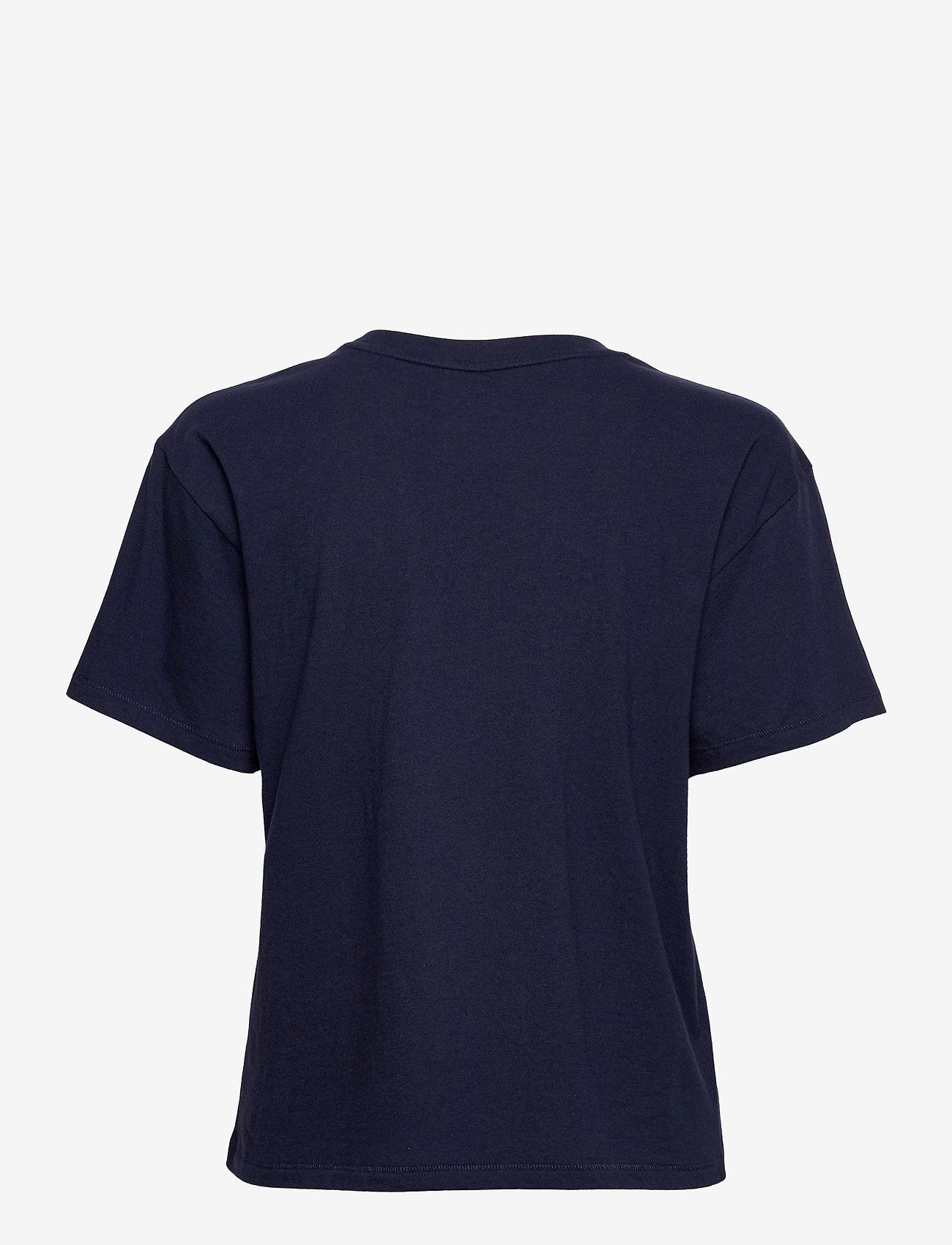 GAP - GAP EASY SS TEE - NYC - t-shirts - navy uniform - 1