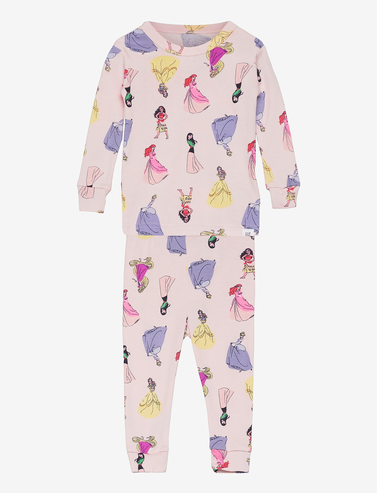GAP - babyGap   Disney Princess 100% Organic Cotton PJ Set - sæt - spring pink - 0