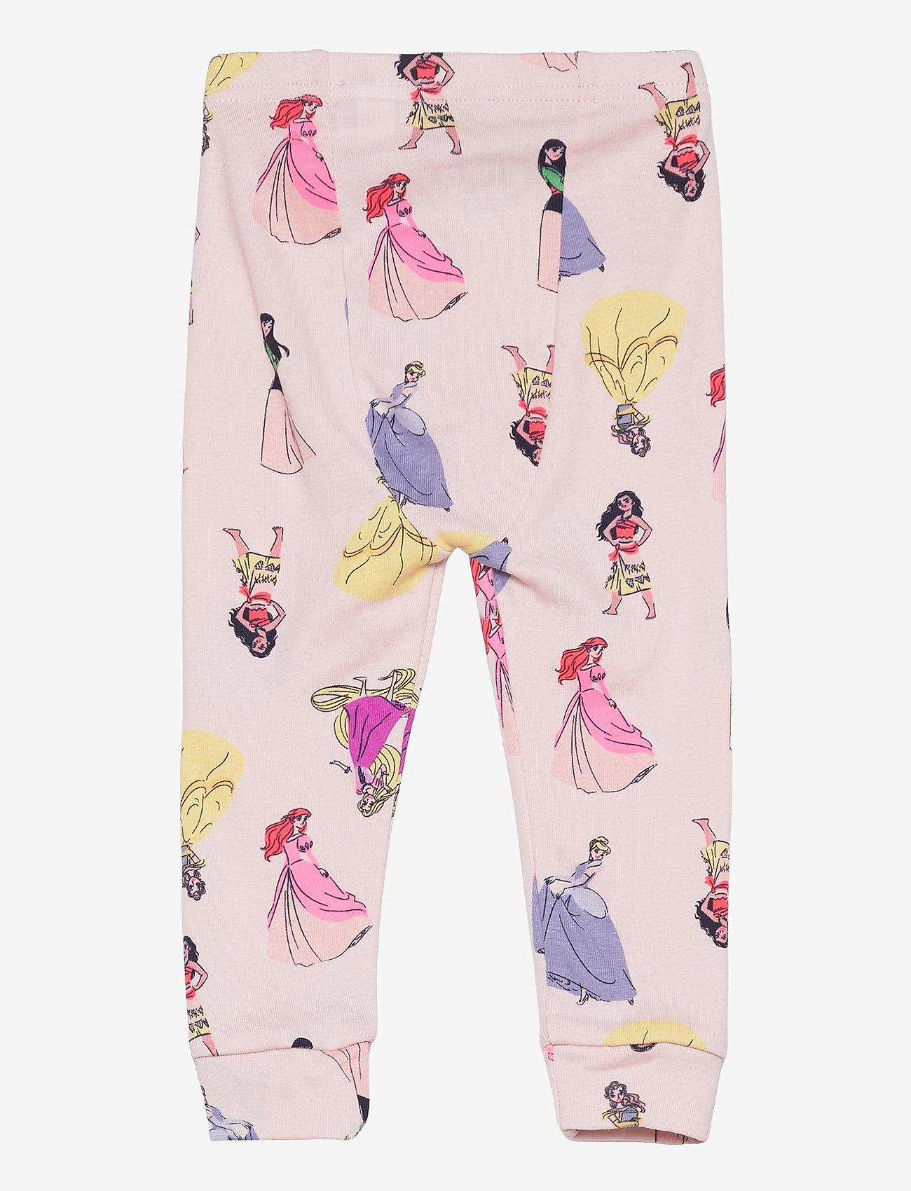 GAP - babyGap   Disney Princess 100% Organic Cotton PJ Set - sæt - spring pink - 3