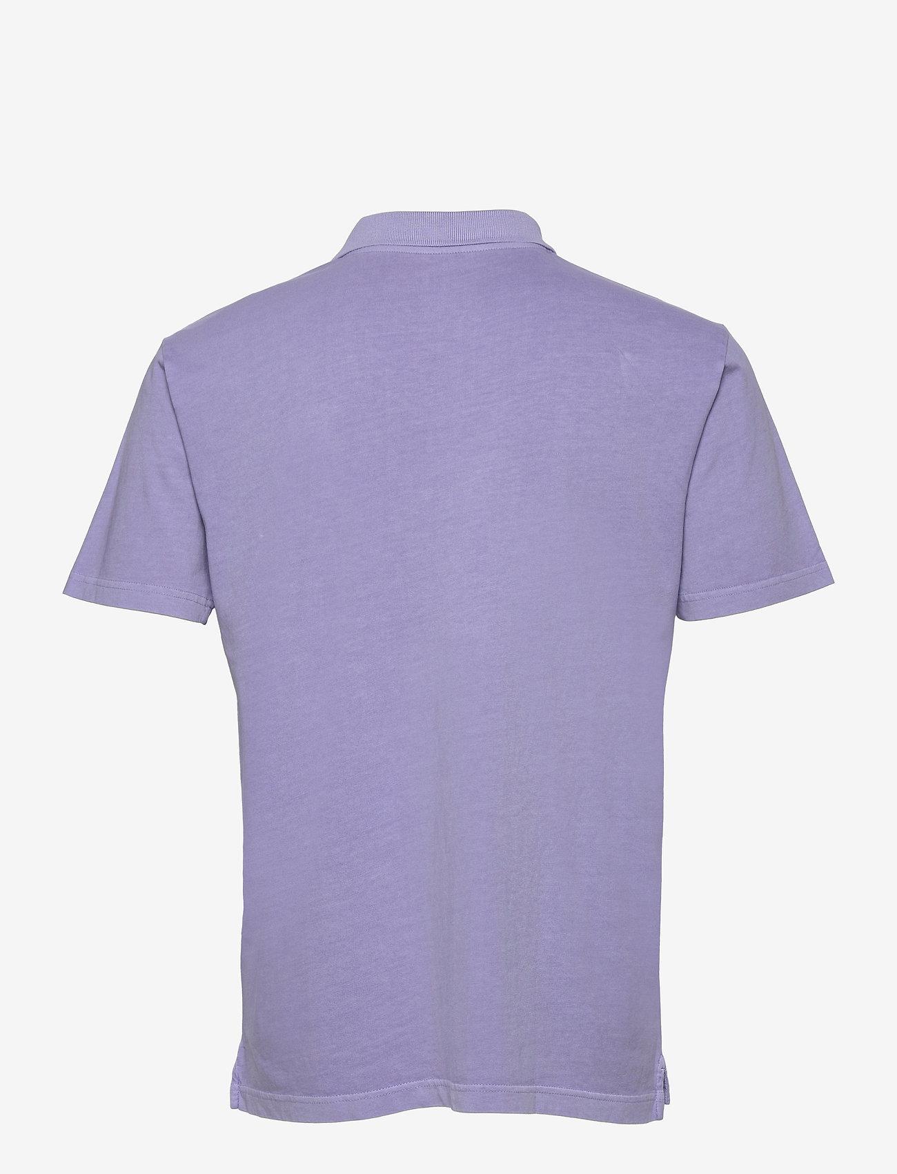 GAP - Organic Cotton Polo Shirt - krótki rękaw - aurora purple 433-230 - 1