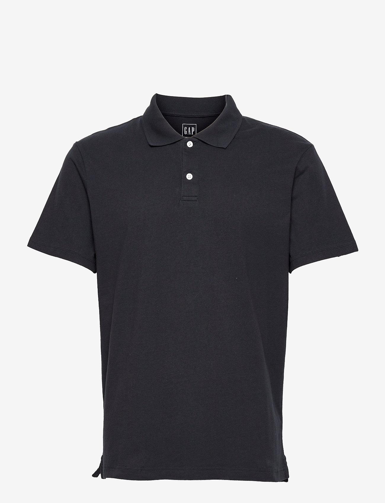 GAP - Organic Cotton Polo Shirt - poloshirts - new classic navy - 0