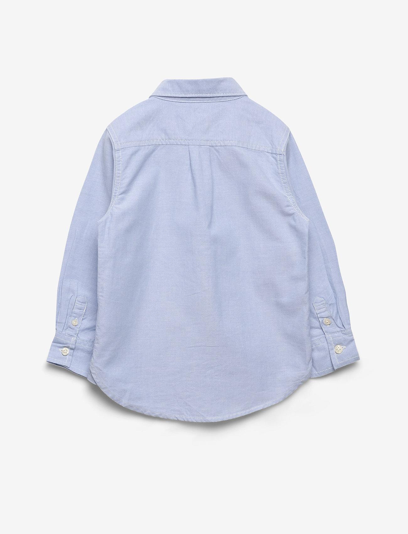GAP - Toddler Oxford Button-Down Shirt - shirts - blue opal 420 - 1