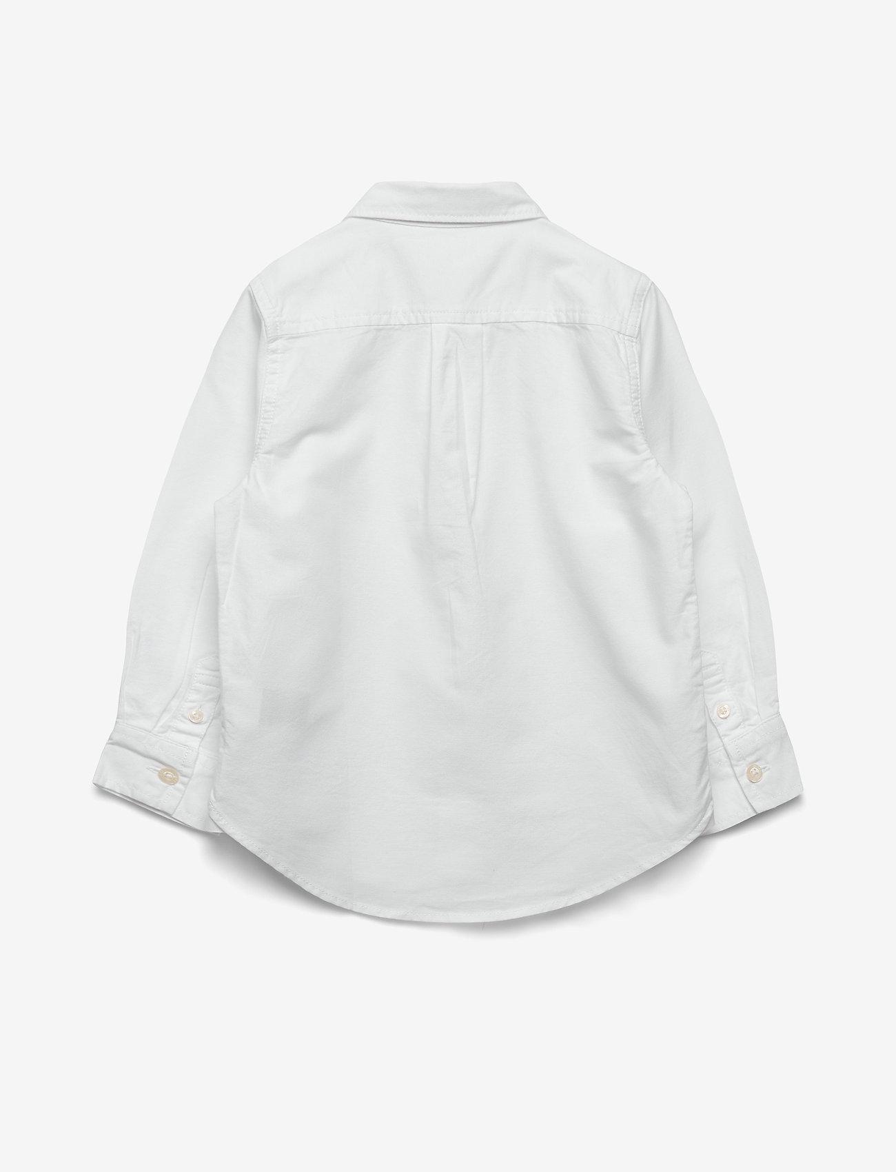 GAP - Toddler Oxford Button-Down Shirt - shirts - white - 1