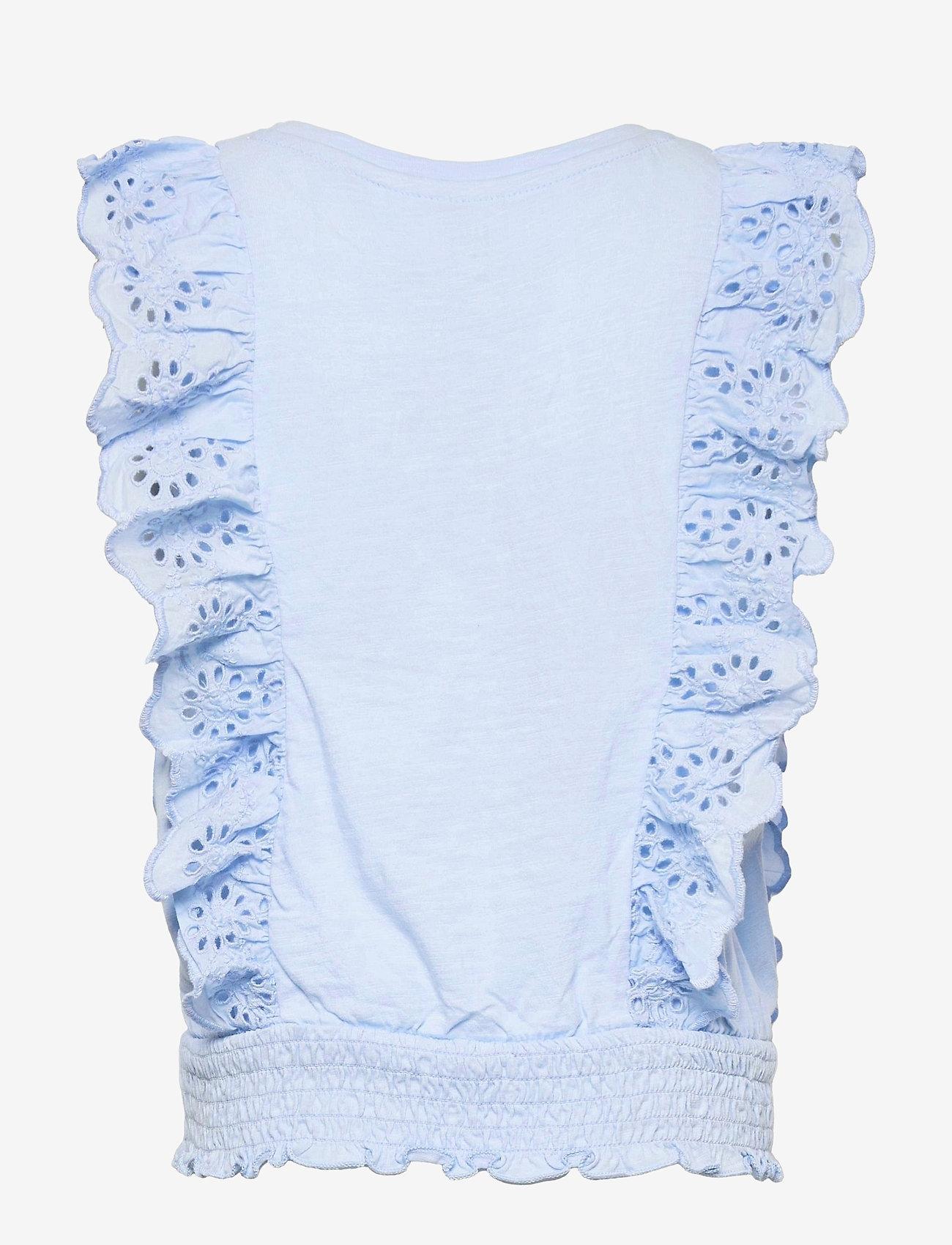 GAP - Kids Eyelet Shirt - shirts - bicoastal blue - 1