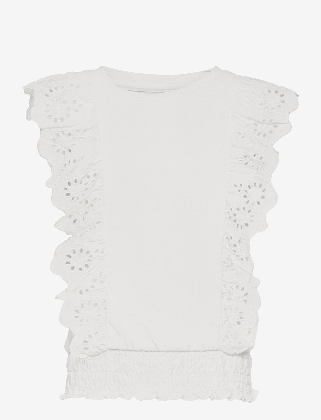 GAP - Kids Eyelet Shirt - shirts - new off white - 0