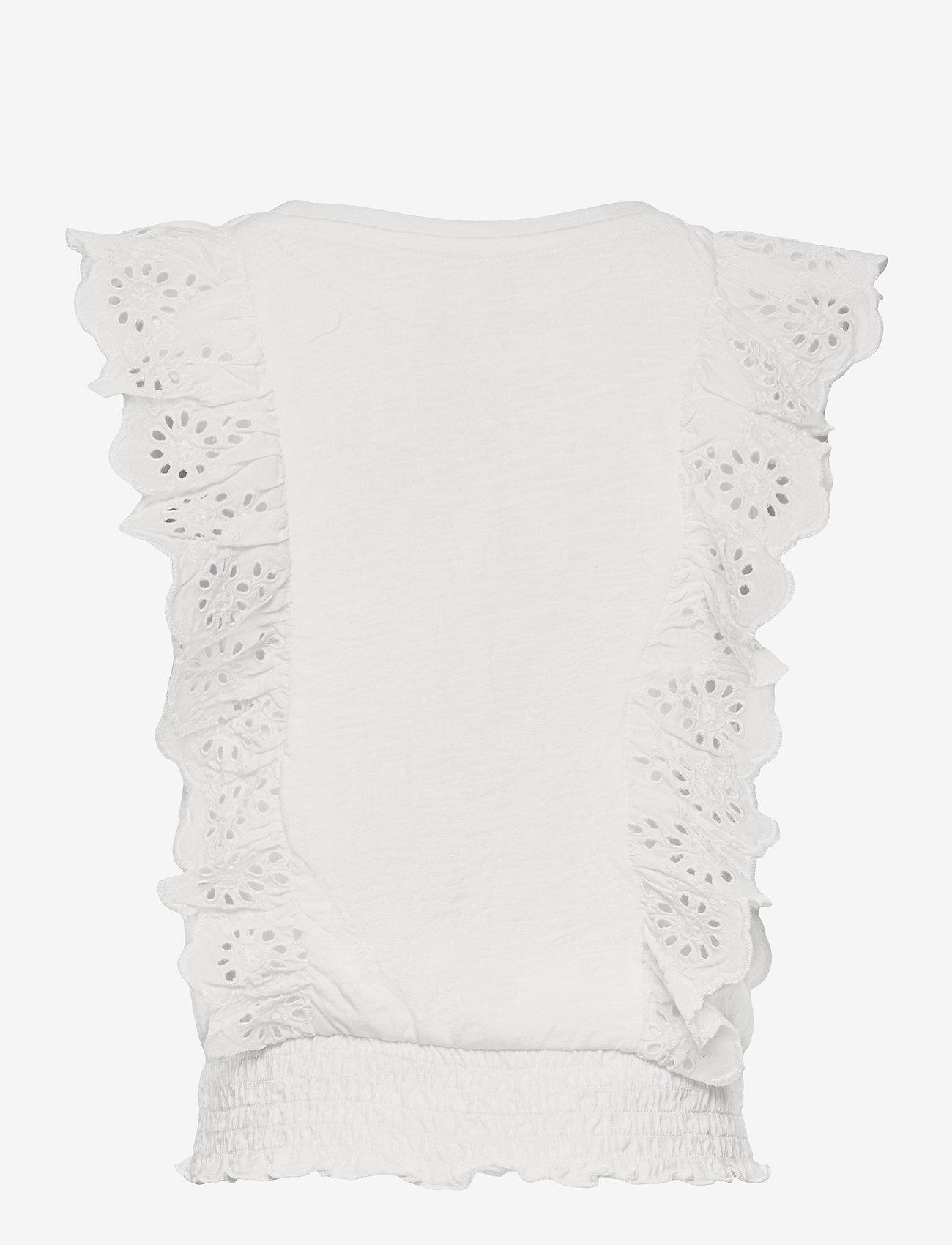 GAP - Kids Eyelet Shirt - shirts - new off white - 1