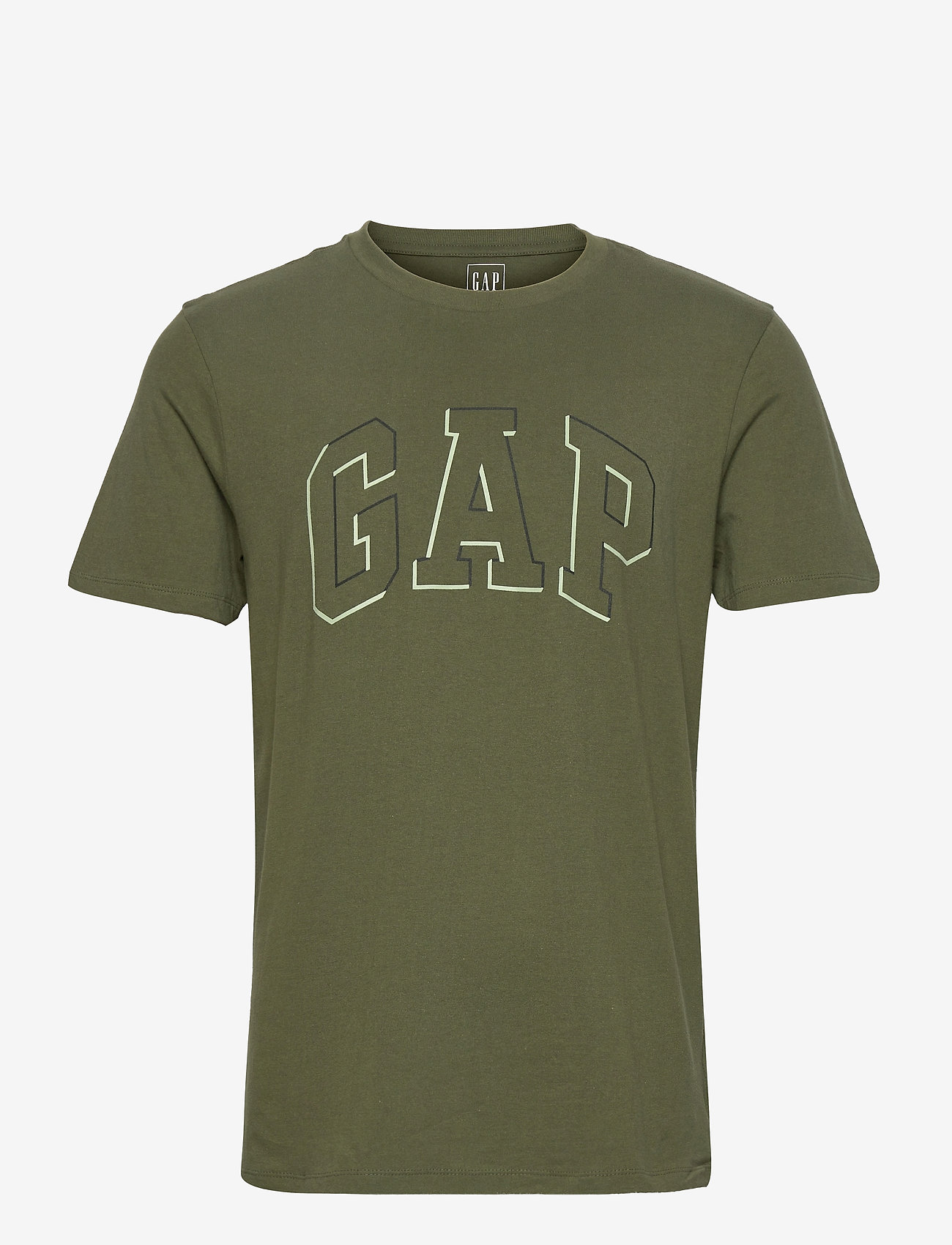 GAP - RAISED ARCH T - t-shirts à manches courtes - army jacket green v2 - 0