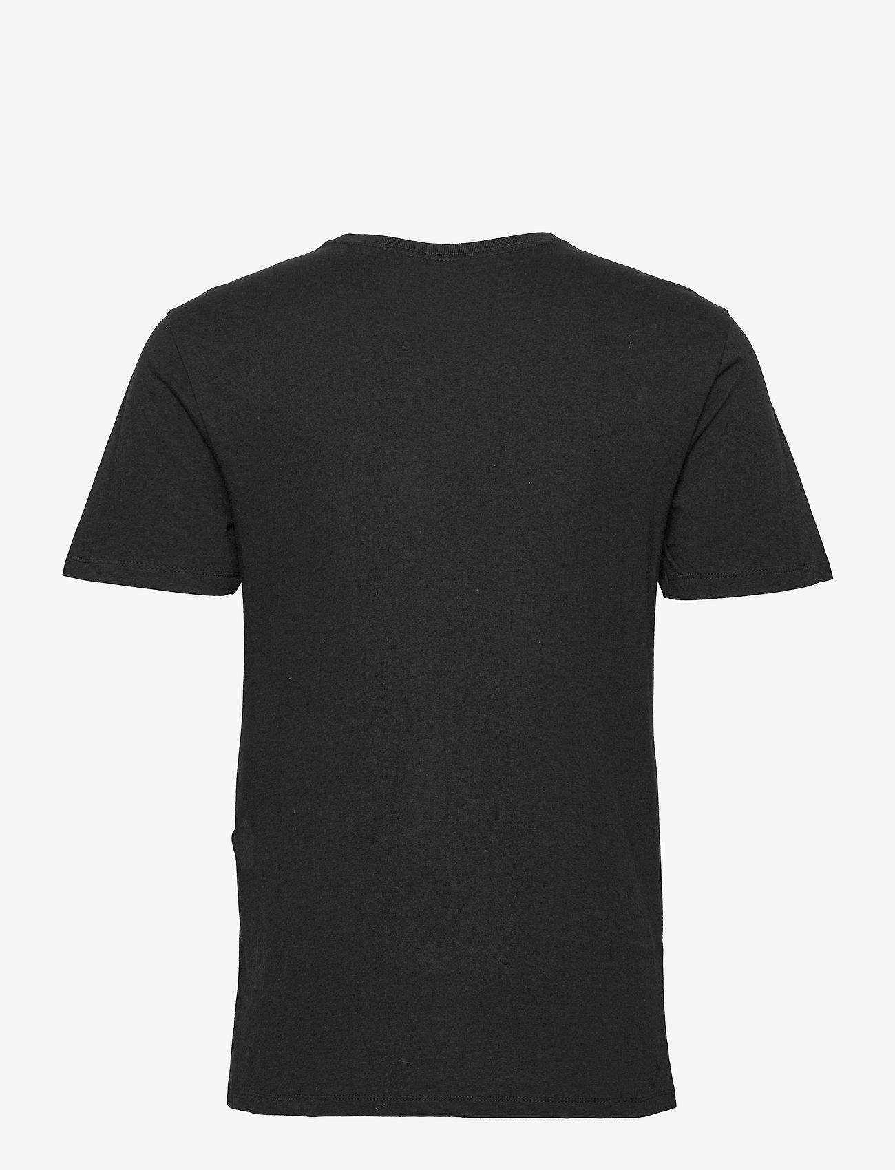 GAP - RAISED ARCH T - t-shirts à manches courtes - true black - 1