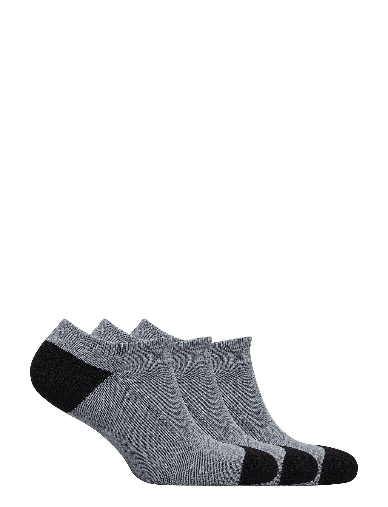 GAP Ankle Socks (3-pack) - GREY HEATHER