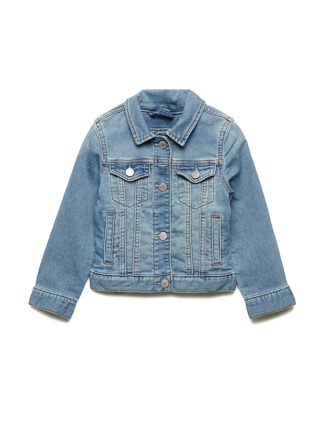 GAP Kids Icon Denim Jacket - LIGHT INDIGO 1