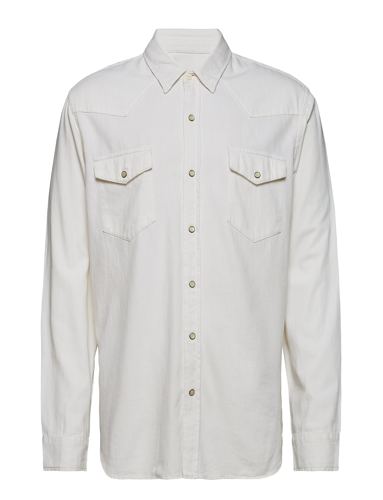 38d5b0d8 ECRU GAP Western Shirt Ecru casual skjorter for herre - Pashion.dk