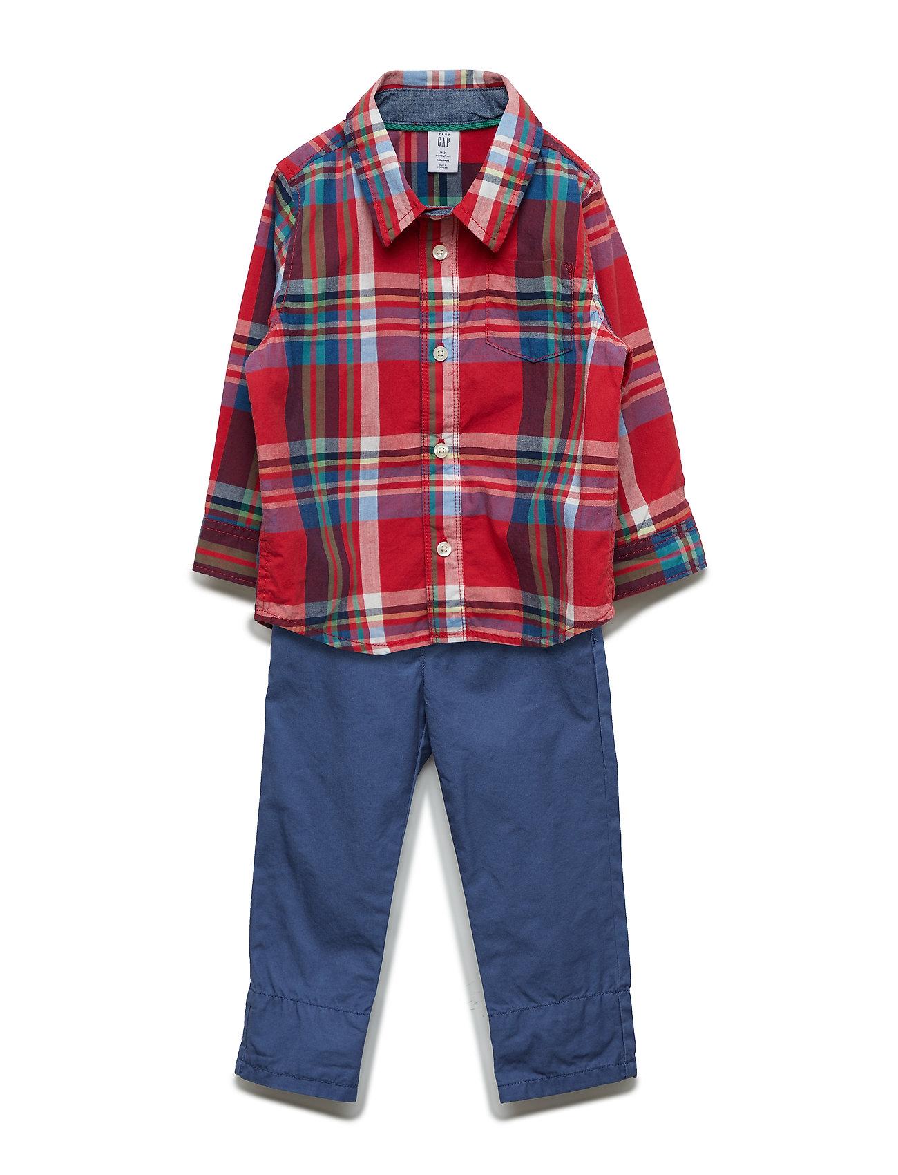 Image of Ls Outfit Set Bukser Blå GAP (3176007263)