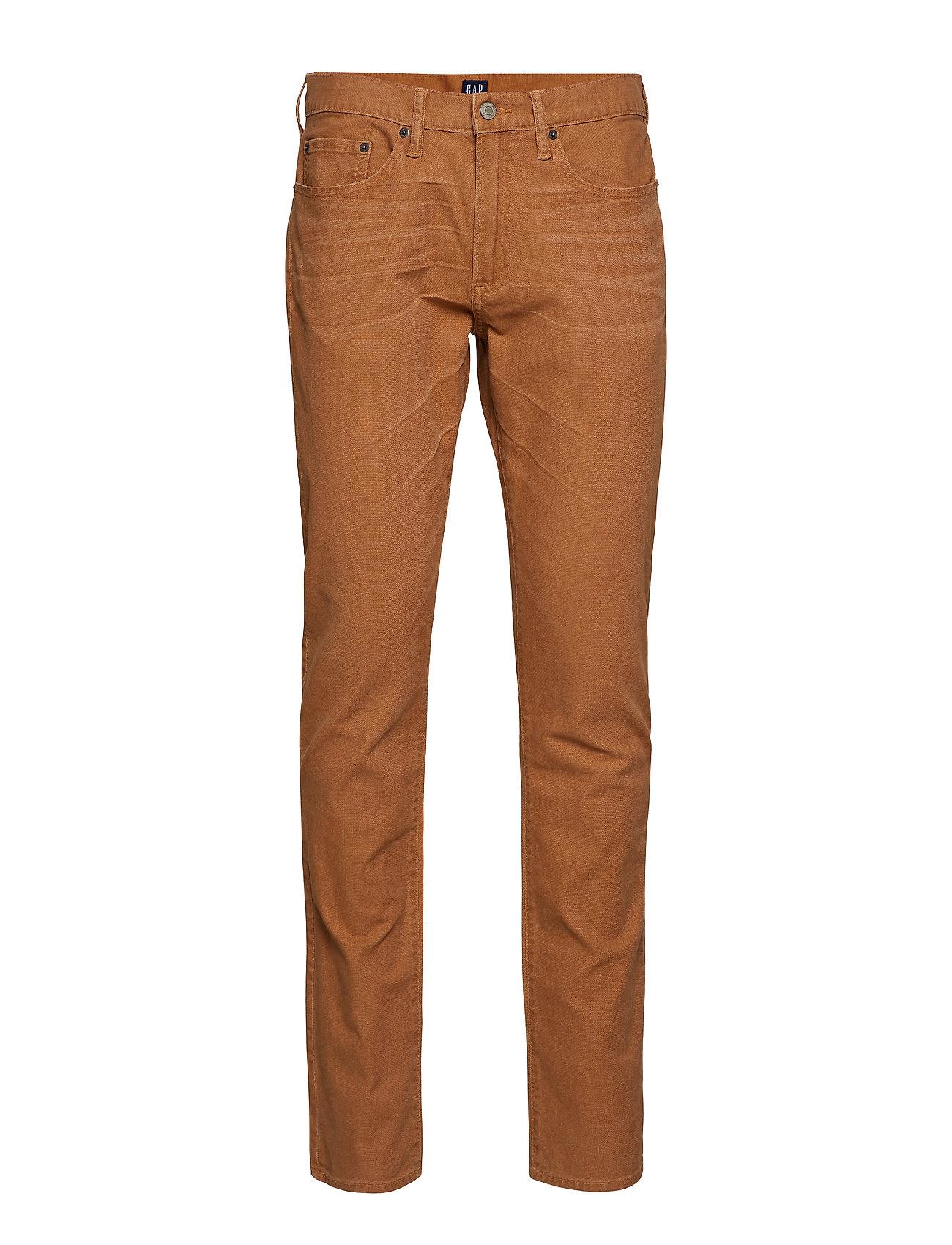 GAP Wearlight Slim Jeans with GapFlex - WORKER BROWN 802