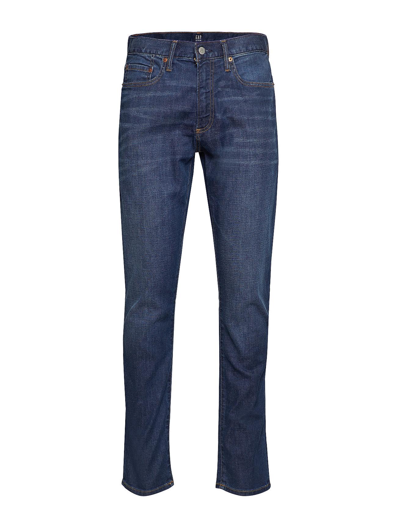 GAP Wearlight Slim Jeans with GapFlex - DARK INDIGO 4